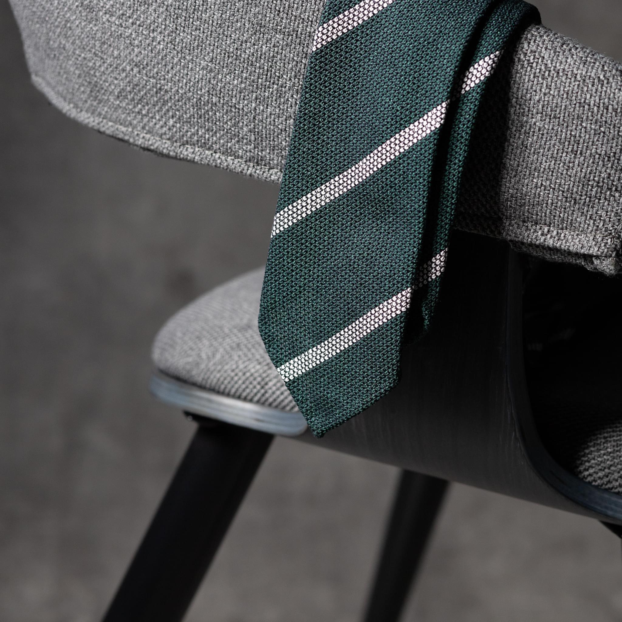 BOUCLÉ-0443-Tie-Initials-Corbata-Iniciales-The-Seelk-2