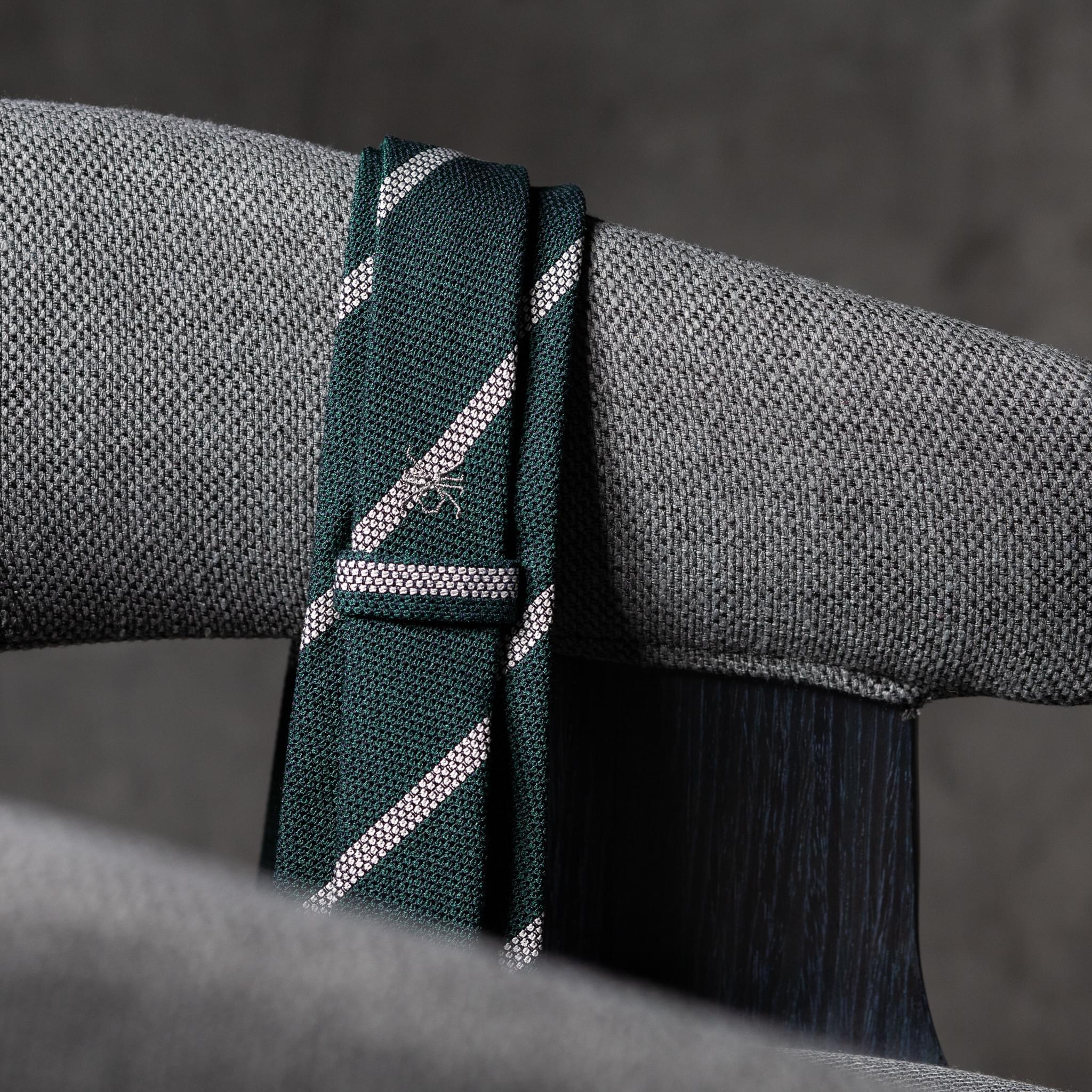 BOUCLÉ-0443-Tie-Initials-Corbata-Iniciales-The-Seelk-3