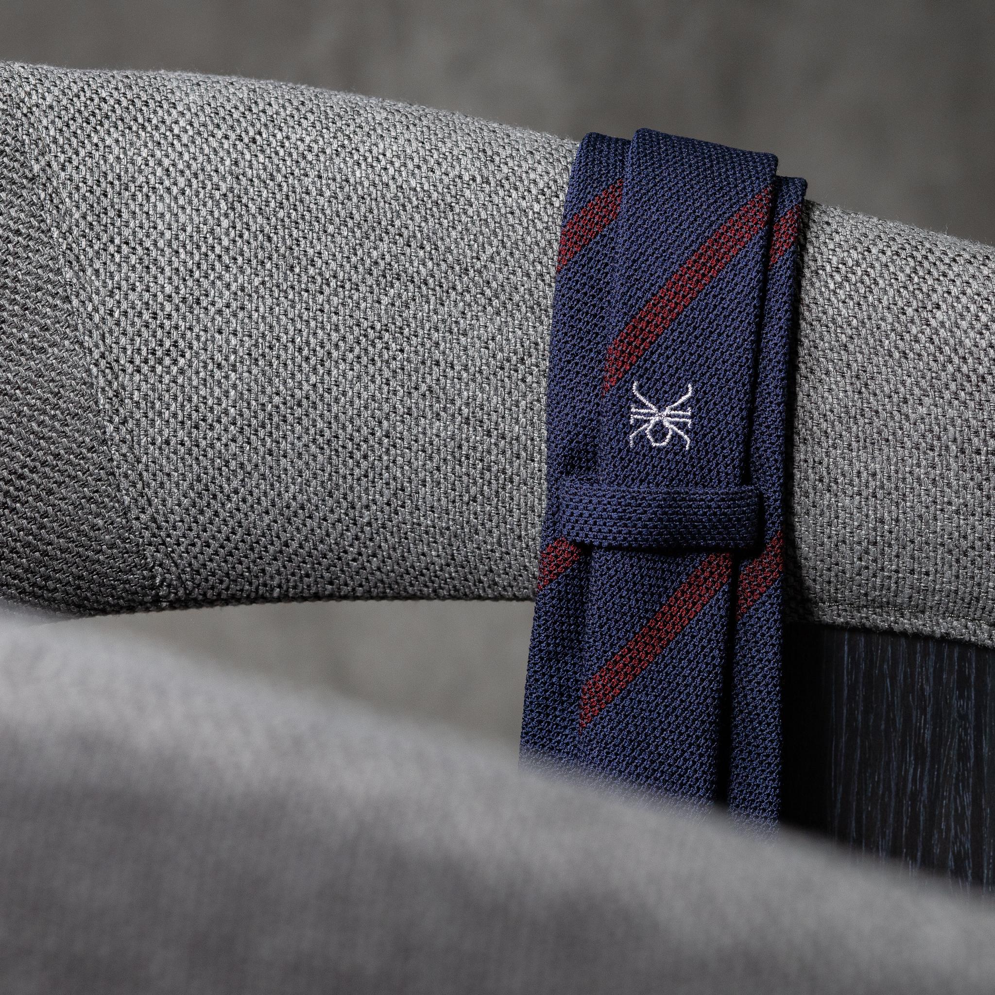 BOUCLÉ-0535-Tie-Initials-Corbata-Iniciales-The-Seelk-3