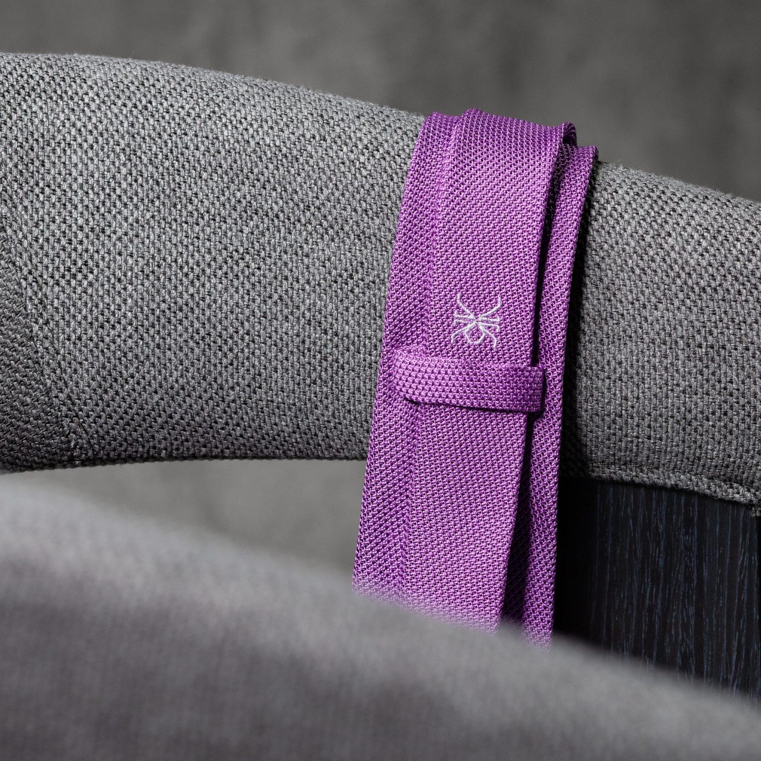 GRENADINE-0154-Tie-Initials-Corbata-Iniciales-The-Seelk-4