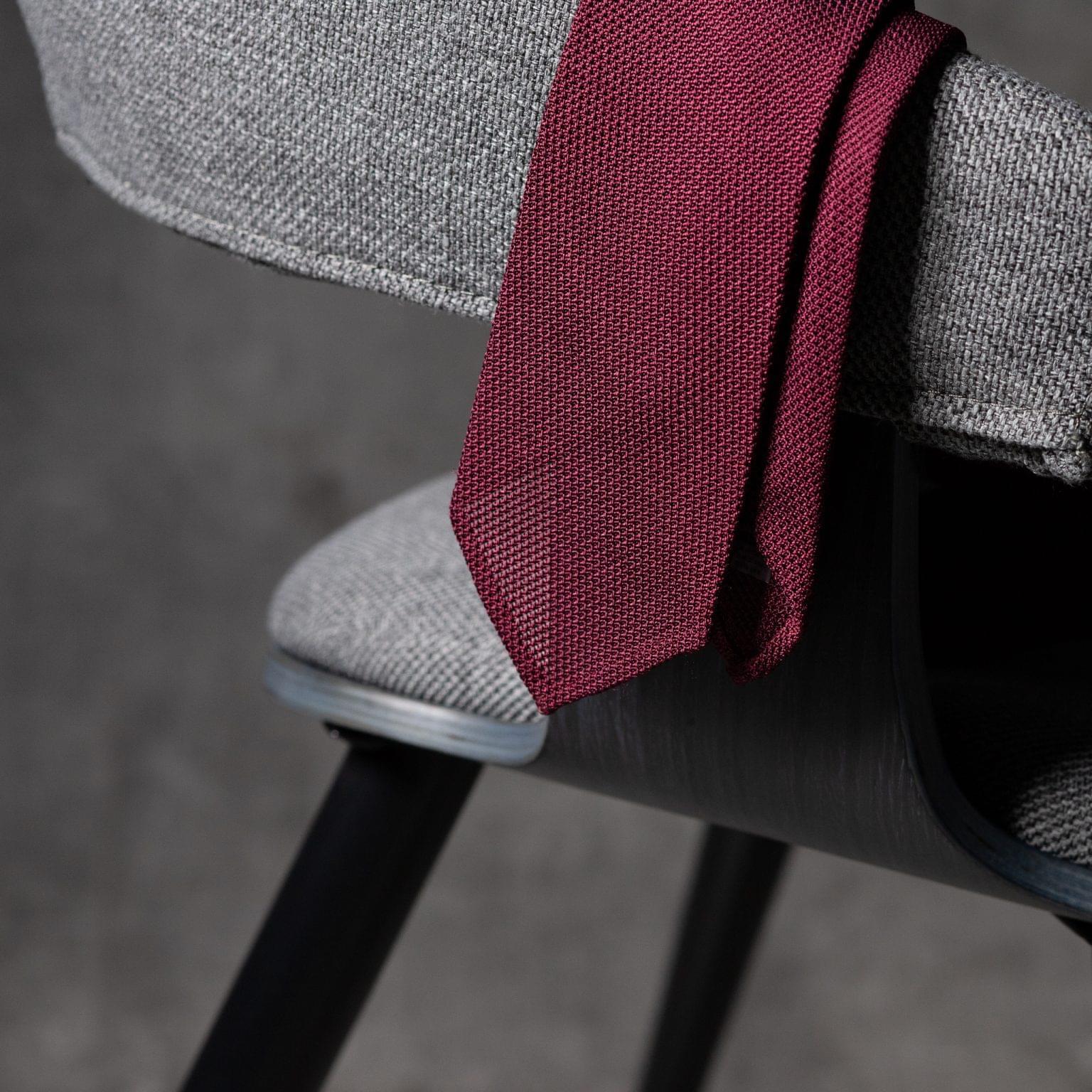 GRENADINE-0278-Tie-Initials-Corbata-Iniciales-The-Seelk-2