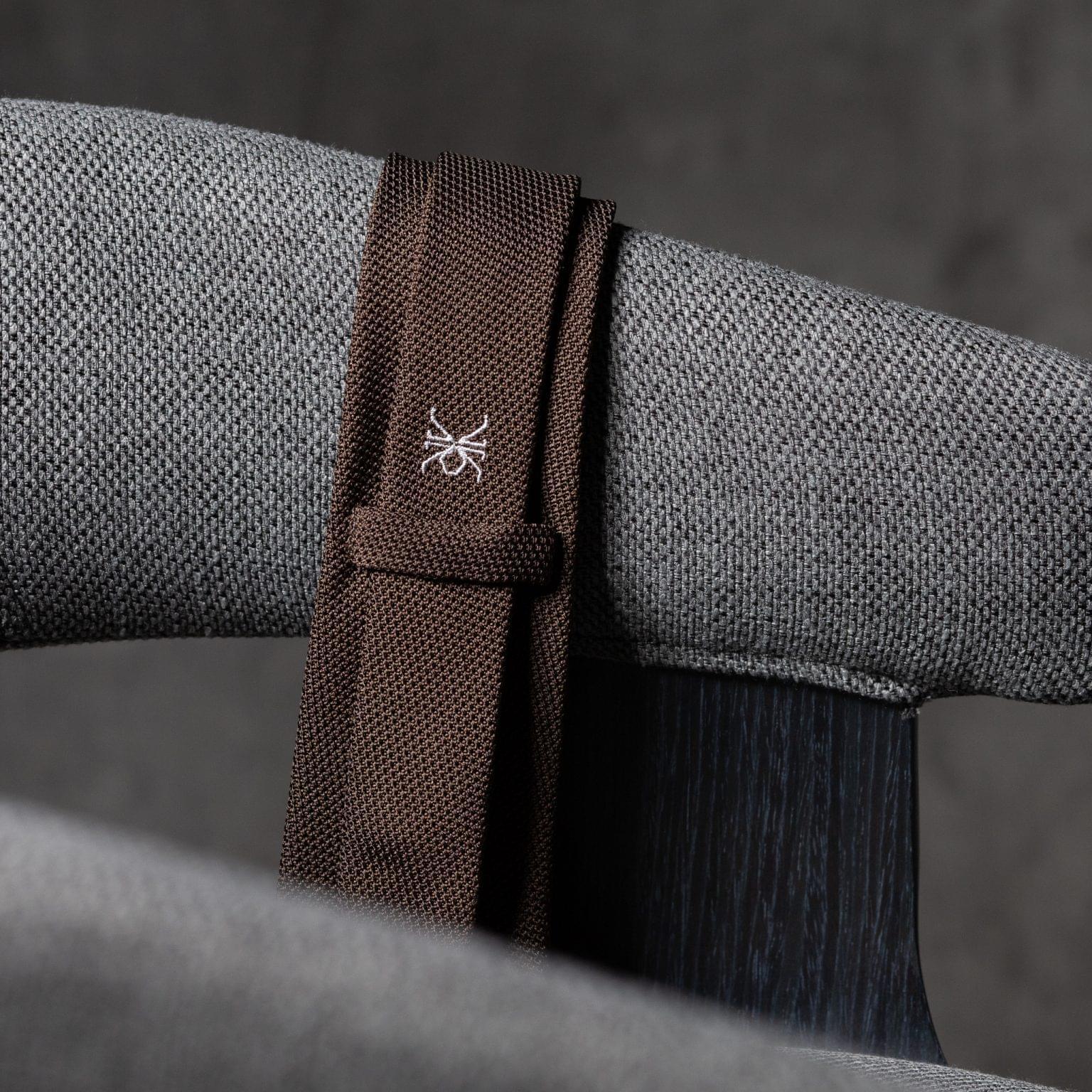 GRENADINE-0279-Tie-Initials-Corbata-Iniciales-The-Seelk-4