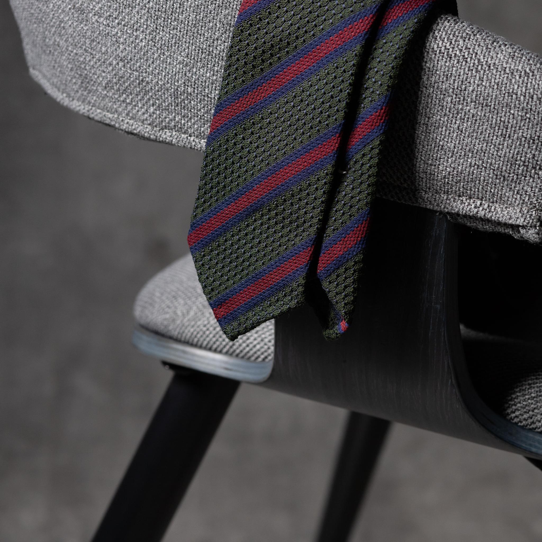 GRENADINE-0529-Tie-Initials-Corbata-Iniciales-The-Seelk-2