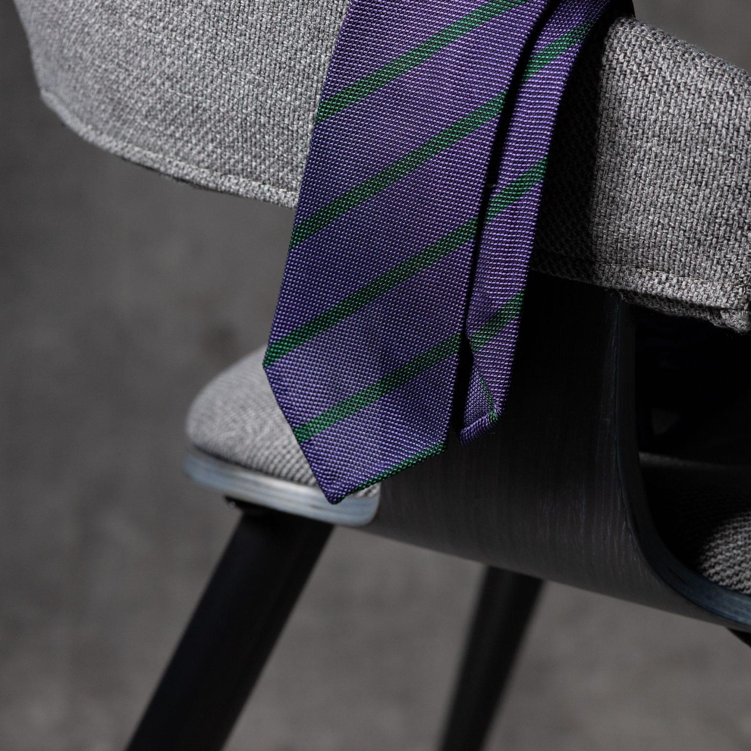 GRENADINE-0531-Tie-Initials-Corbata-Iniciales-The-Seelk-2