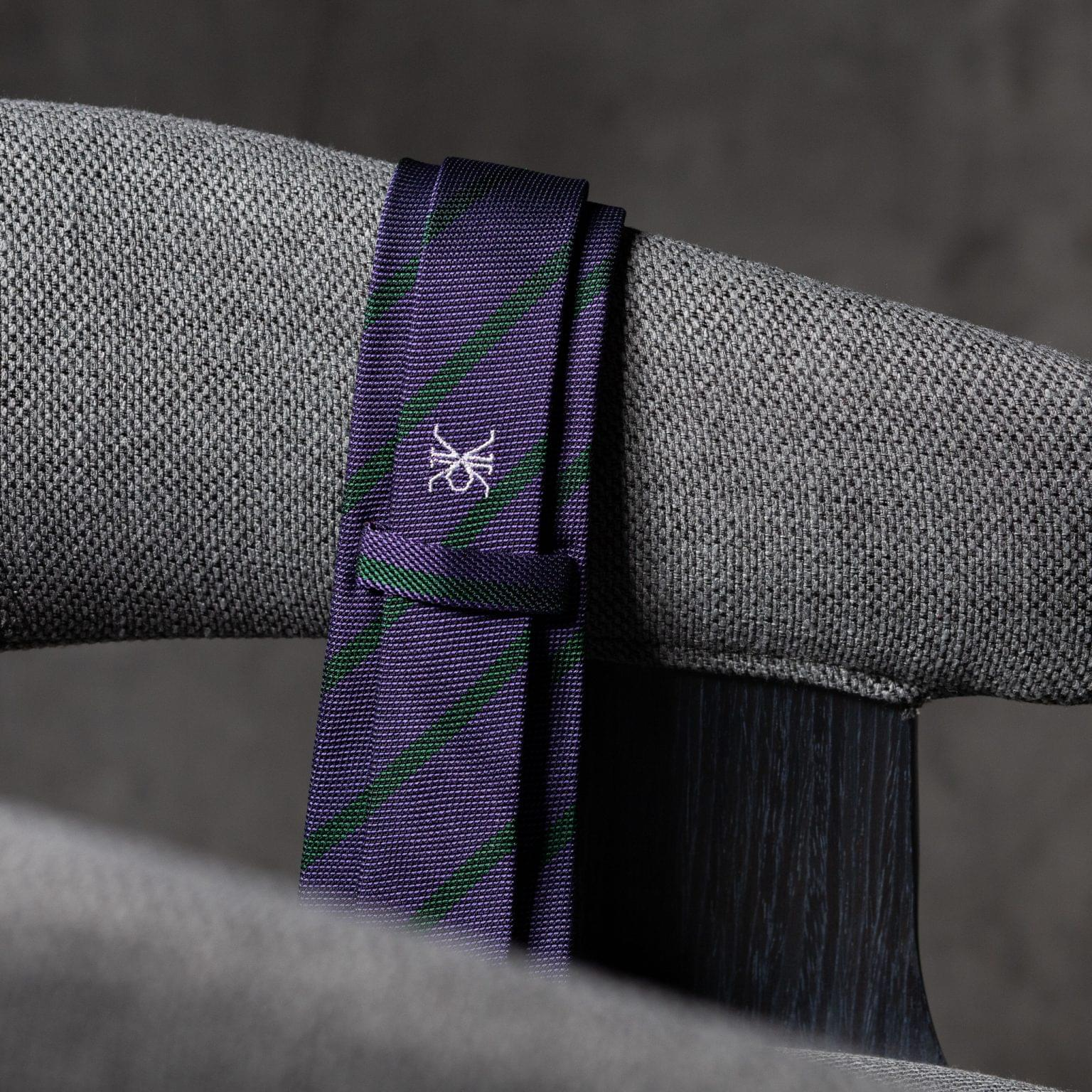 GRENADINE-0531-Tie-Initials-Corbata-Iniciales-The-Seelk-4