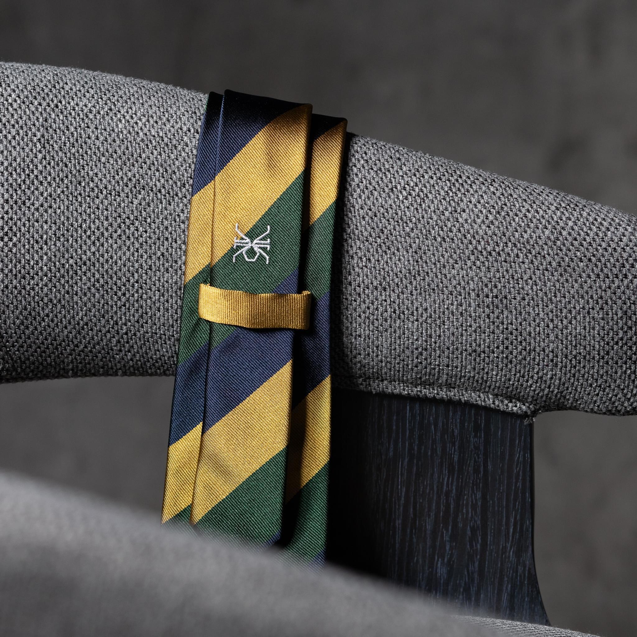 JACQUARD-0505-Tie-Initials-Corbata-Iniciales-The-Seelk-4