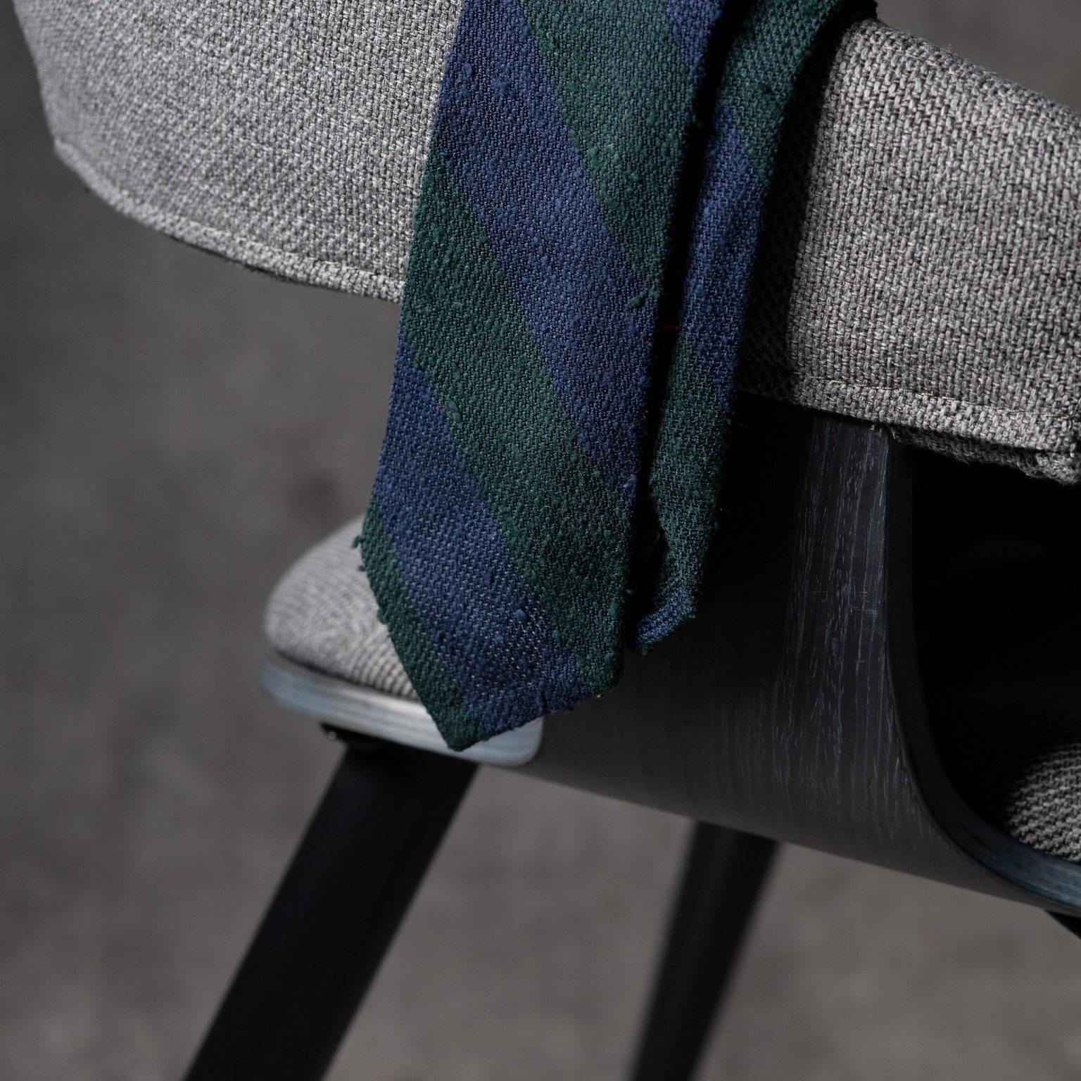 SHANTUNG-0271-Tie-Initials-Corbata-Iniciales-The-Seelk-2