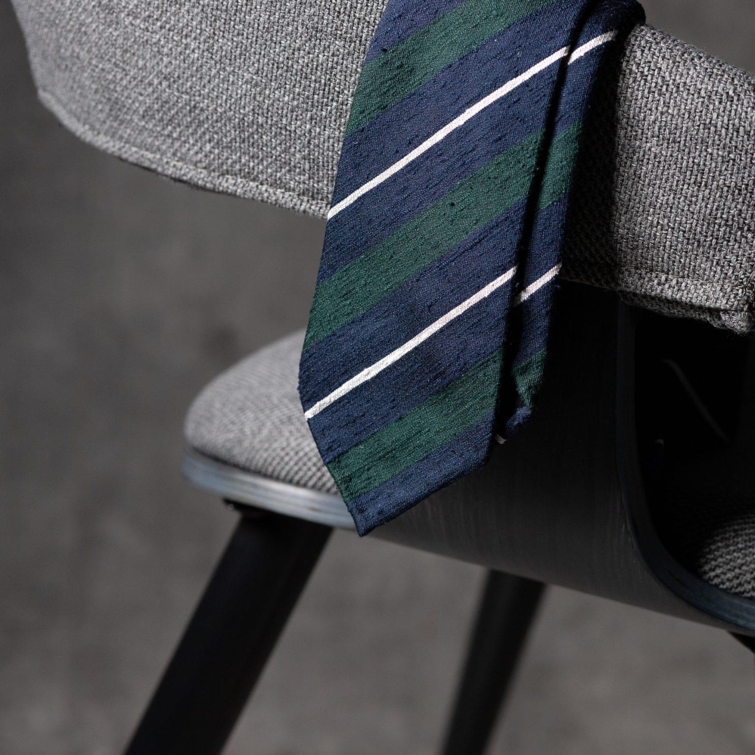 SHANTUNG-0526-Tie-Initials-Corbata-Iniciales-The-Seelk-2