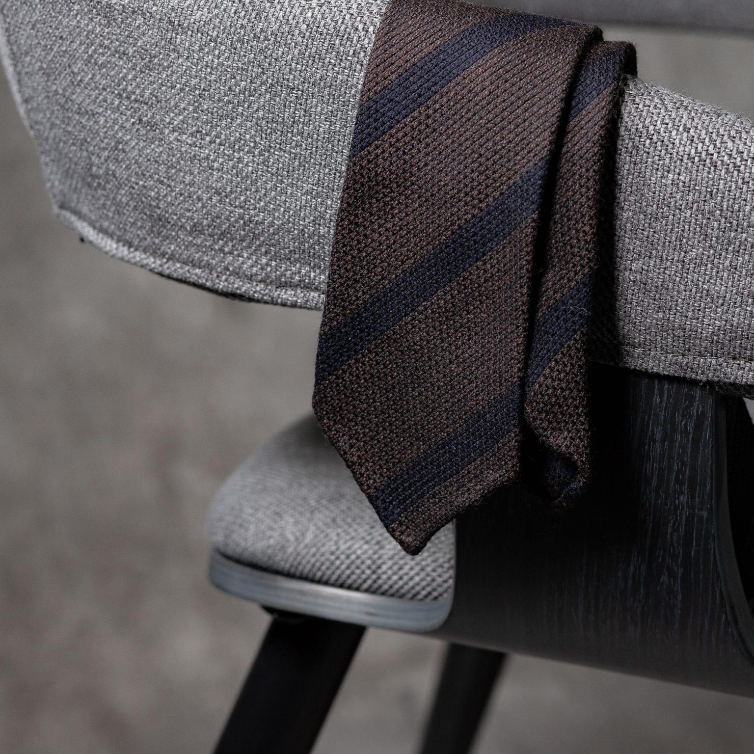 WOOL-LANA-0473-Tie-Initials-Corbata-Iniciales-The-Seelk-2