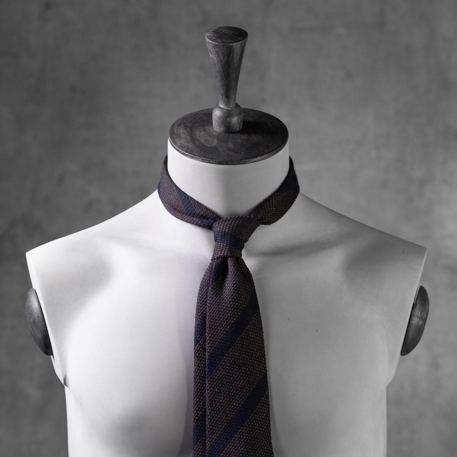 WOOL-LANA-0473-Tie-Initials-Corbata-Iniciales-The-Seelk-3