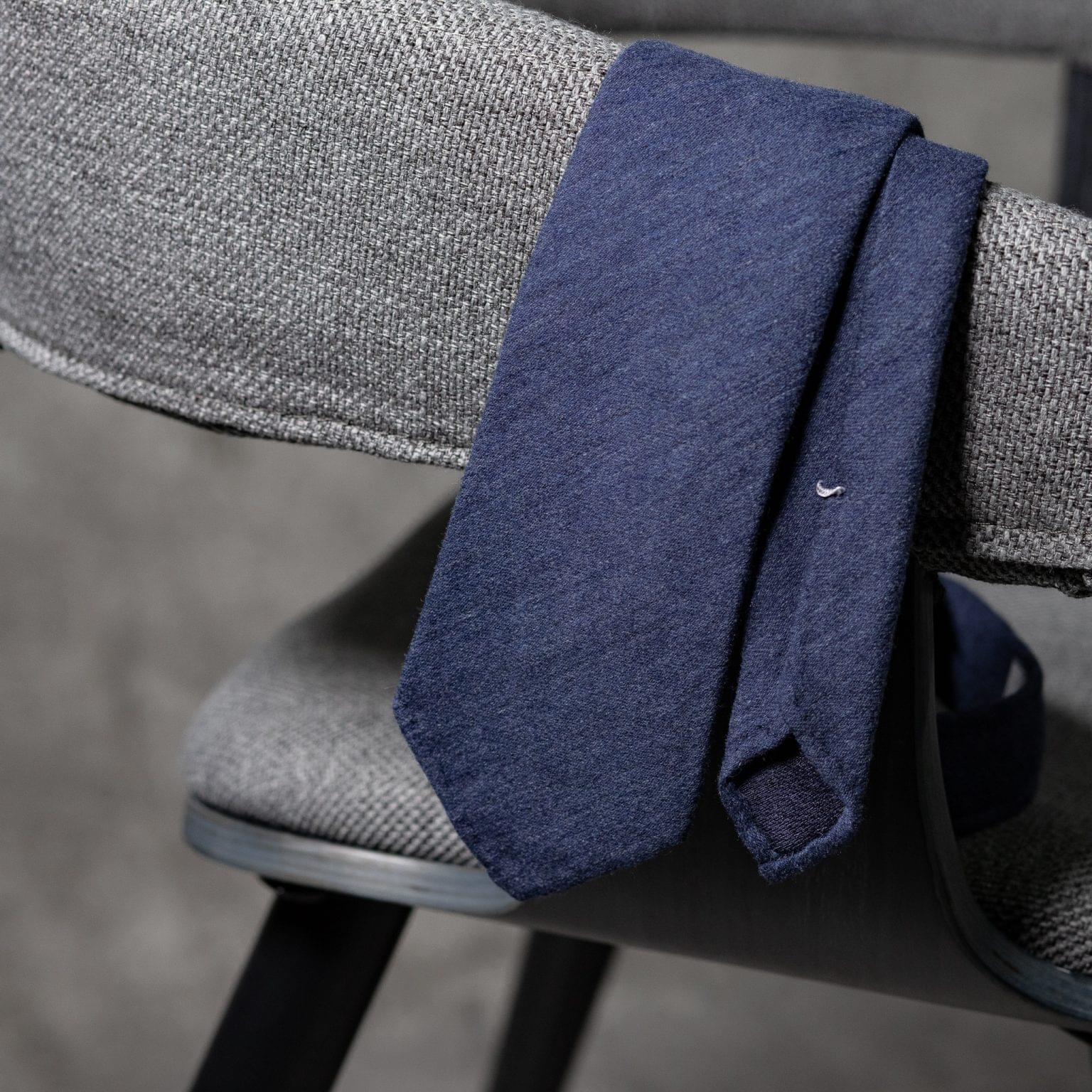 WOOL-LANA-0474-Tie-Initials-Corbata-Iniciales-The-Seelk-2