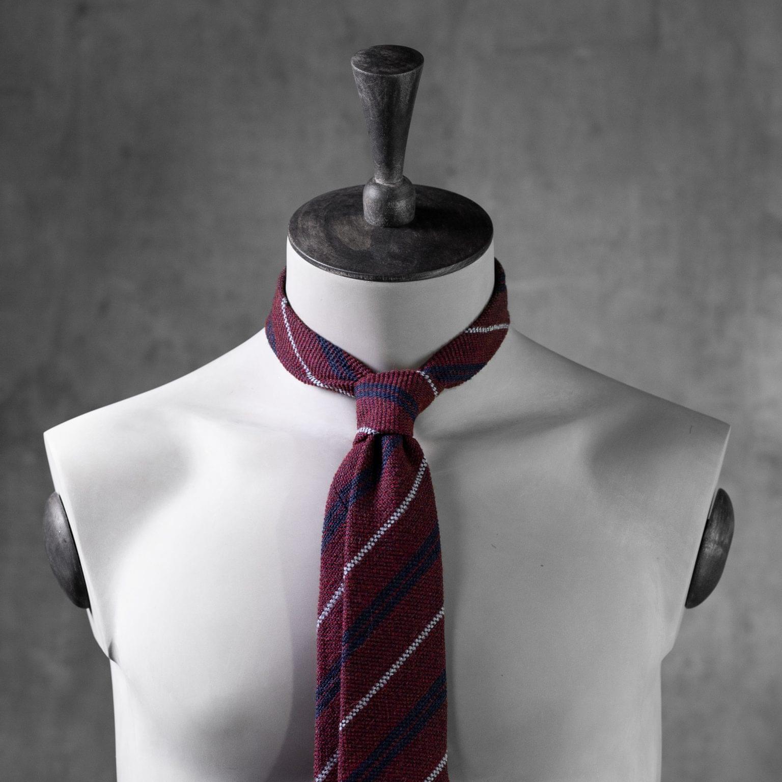 WOOL-LANA-0482-Tie-Initials-Corbata-Iniciales-The-Seelk-3