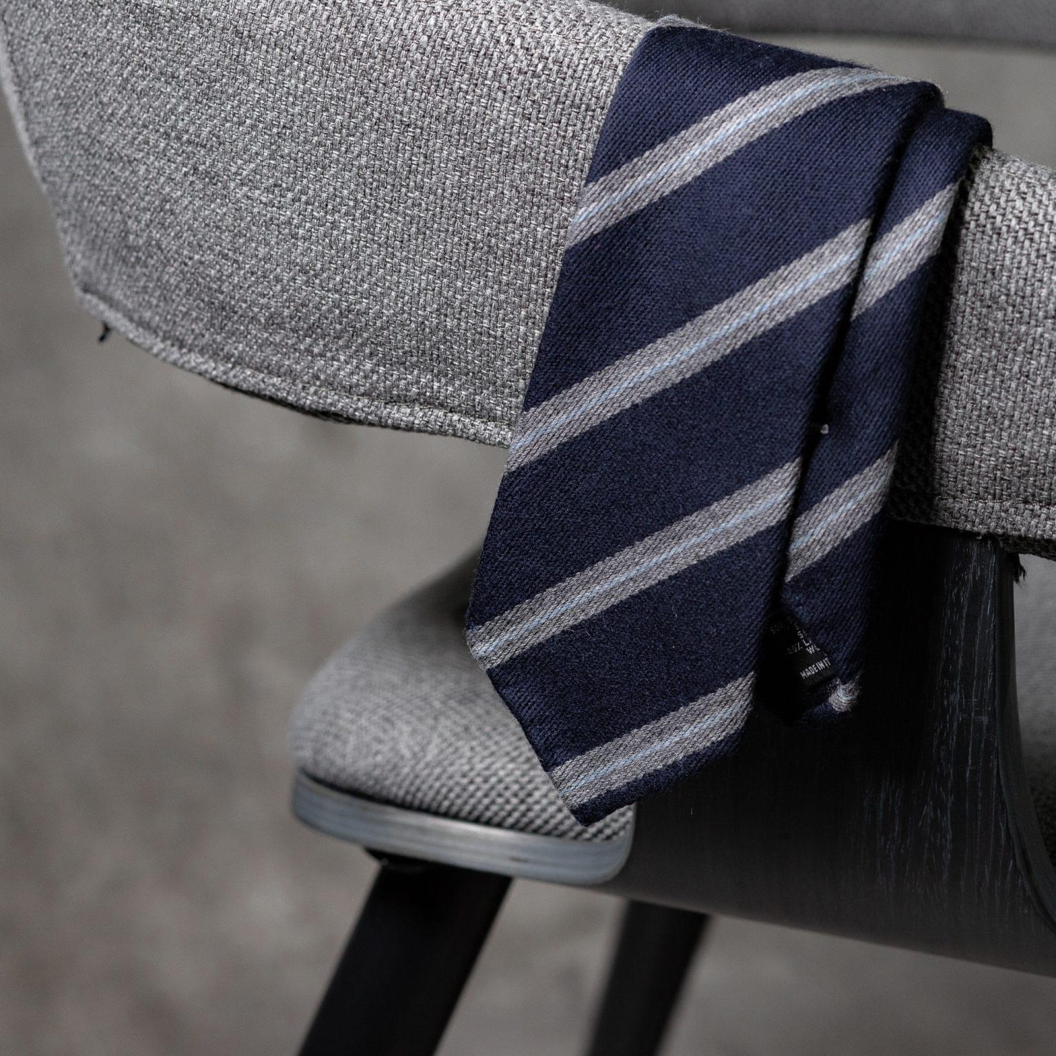 WOOL-LANA-0510-Tie-Initials-Corbata-Iniciales-The-Seelk-2