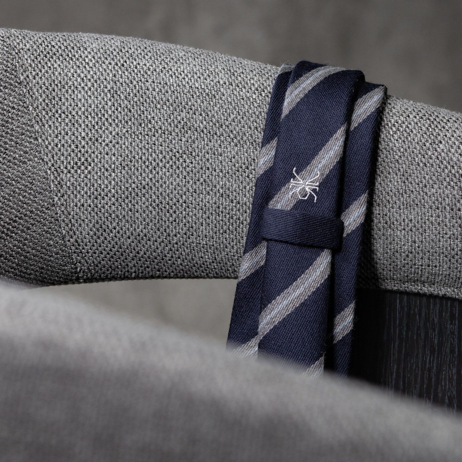WOOL-LANA-0510-Tie-Initials-Corbata-Iniciales-The-Seelk-4