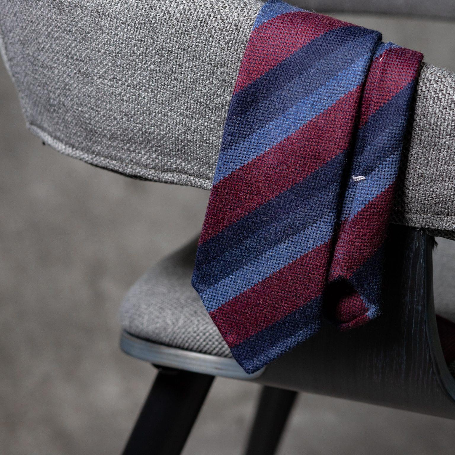 WOOL-LANA-0512-Tie-Initials-Corbata-Iniciales-The-Seelk-2