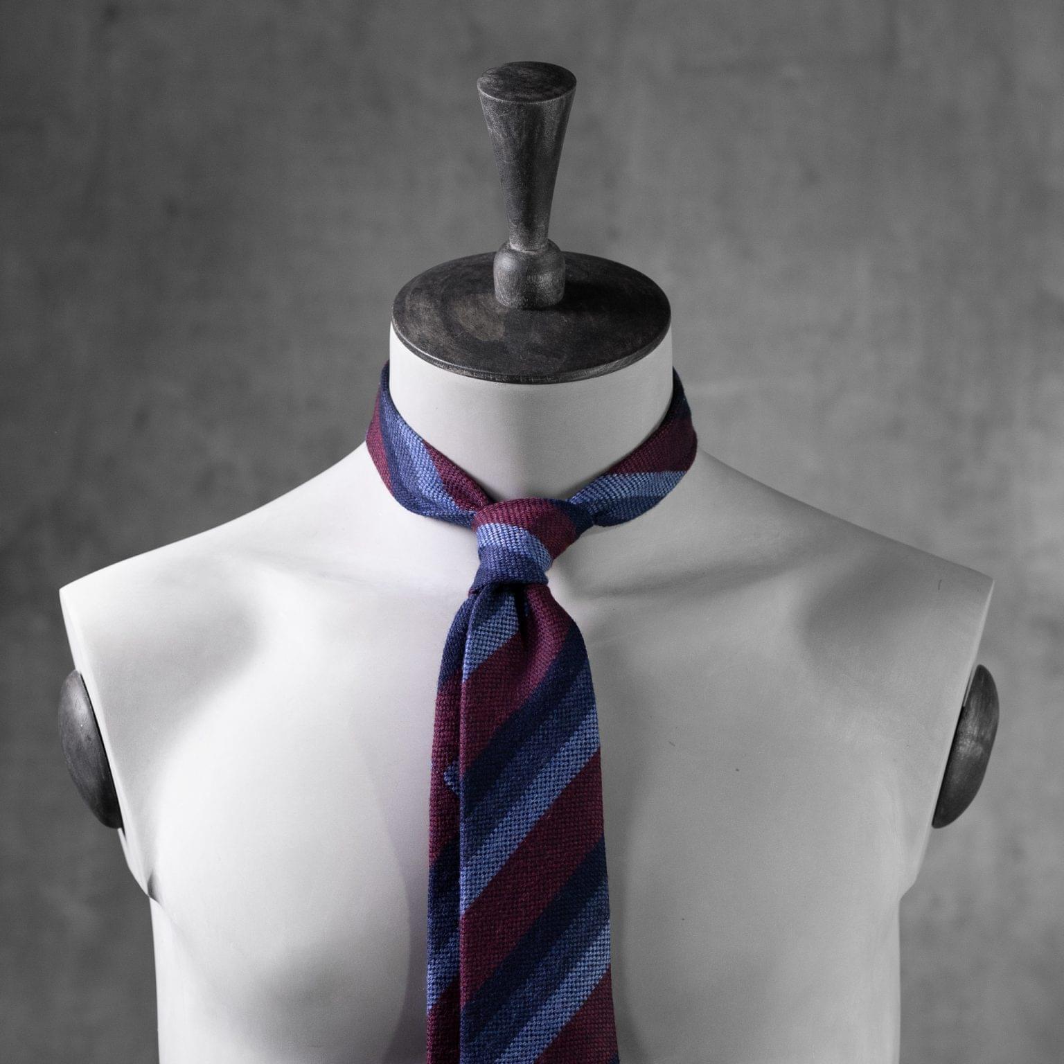 WOOL-LANA-0512-Tie-Initials-Corbata-Iniciales-The-Seelk-3