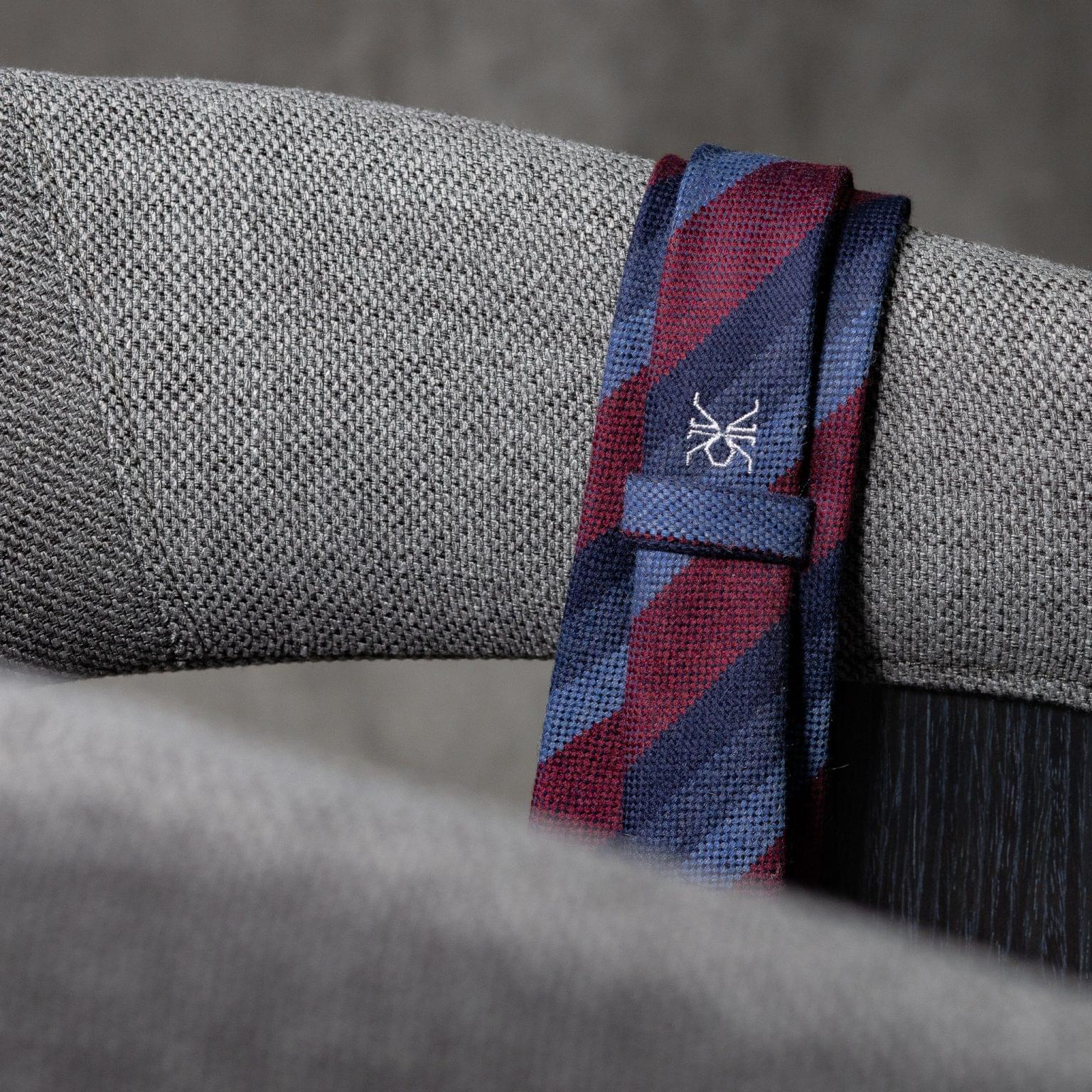 WOOL-LANA-0512-Tie-Initials-Corbata-Iniciales-The-Seelk-4