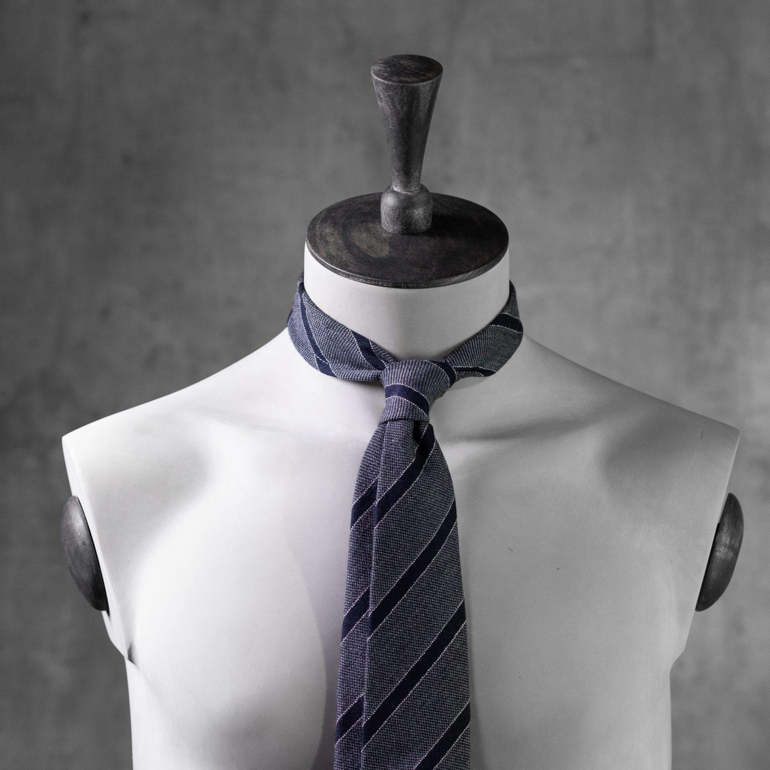 WOOL-LANA-0513-Tie-Initials-Corbata-Iniciales-The-Seelk-3