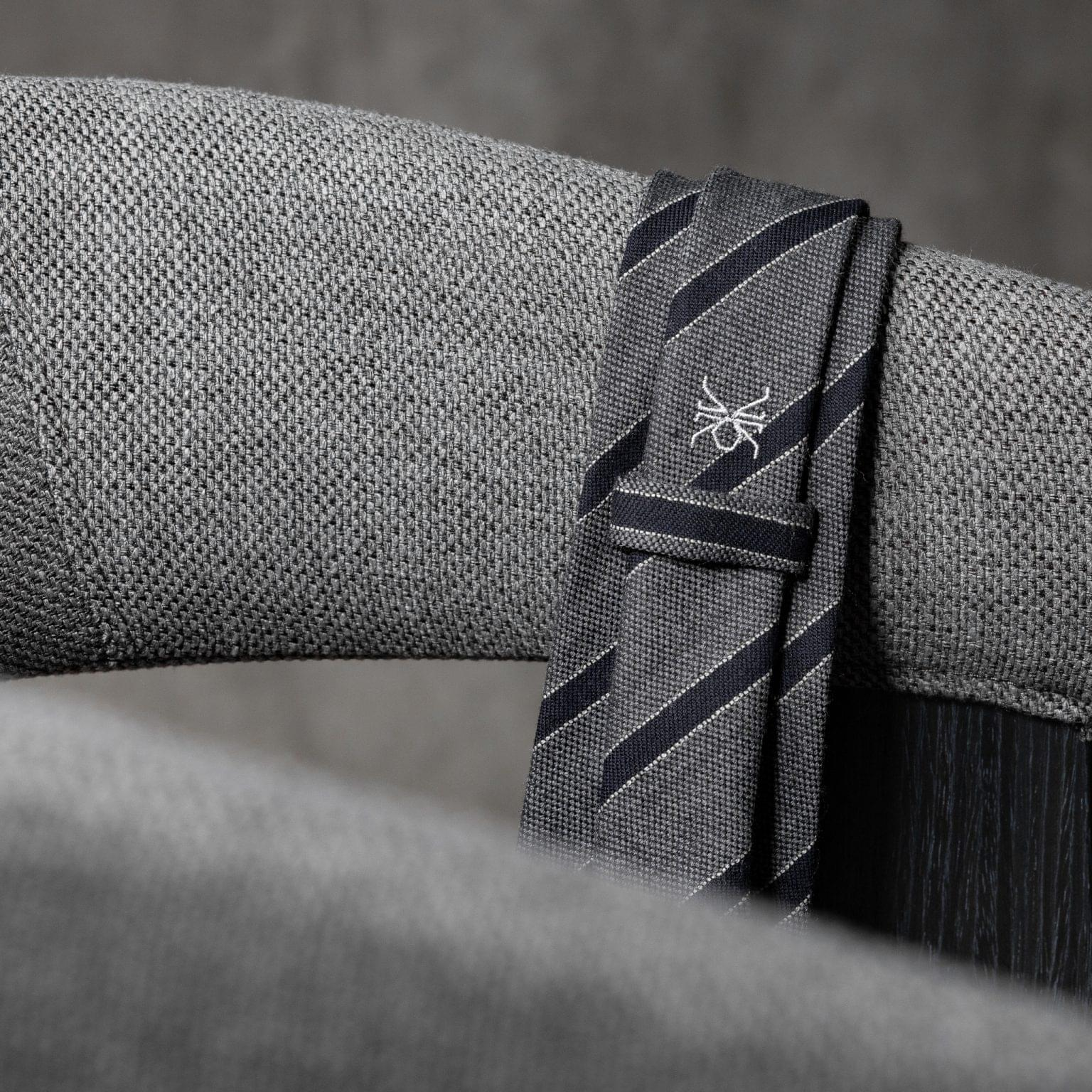 WOOL-LANA-0513-Tie-Initials-Corbata-Iniciales-The-Seelk-4