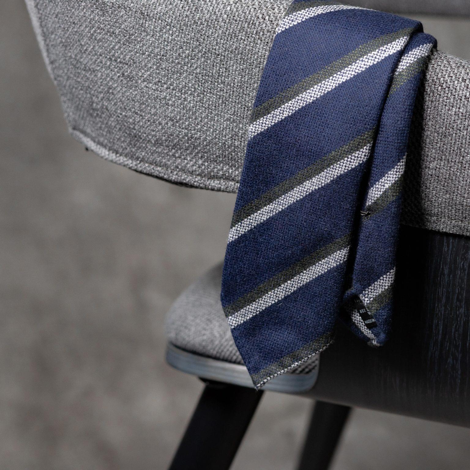 WOOL-LANA-0514-Tie-Initials-Corbata-Iniciales-The-Seelk-2