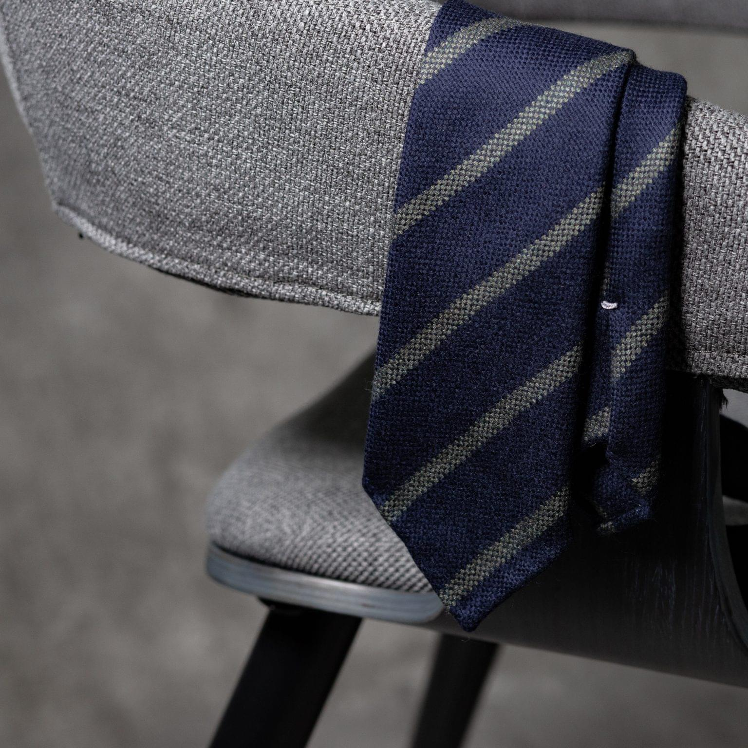 WOOL-LANA-0518-Tie-Initials-Corbata-Iniciales-The-Seelk-2