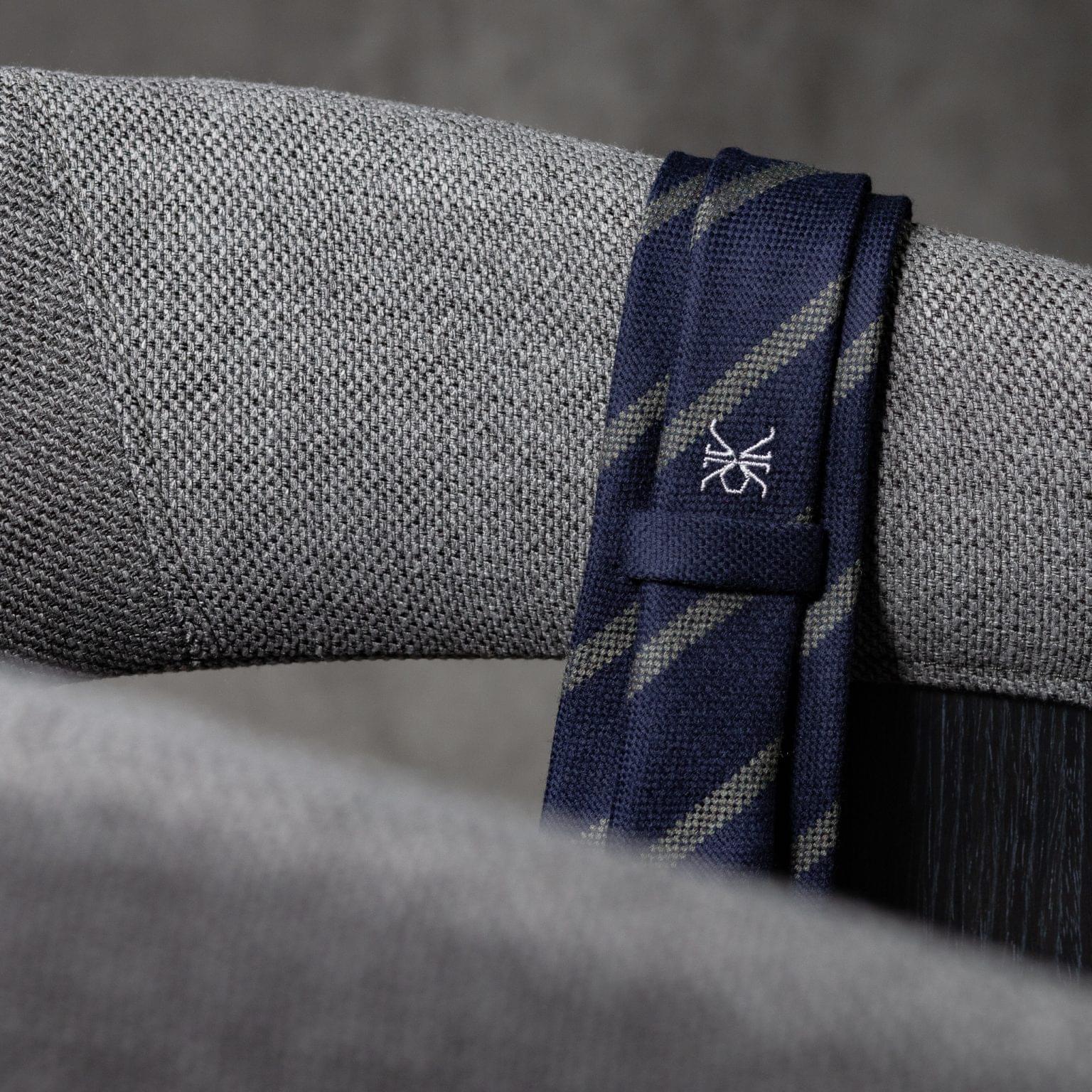 WOOL-LANA-0518-Tie-Initials-Corbata-Iniciales-The-Seelk-4