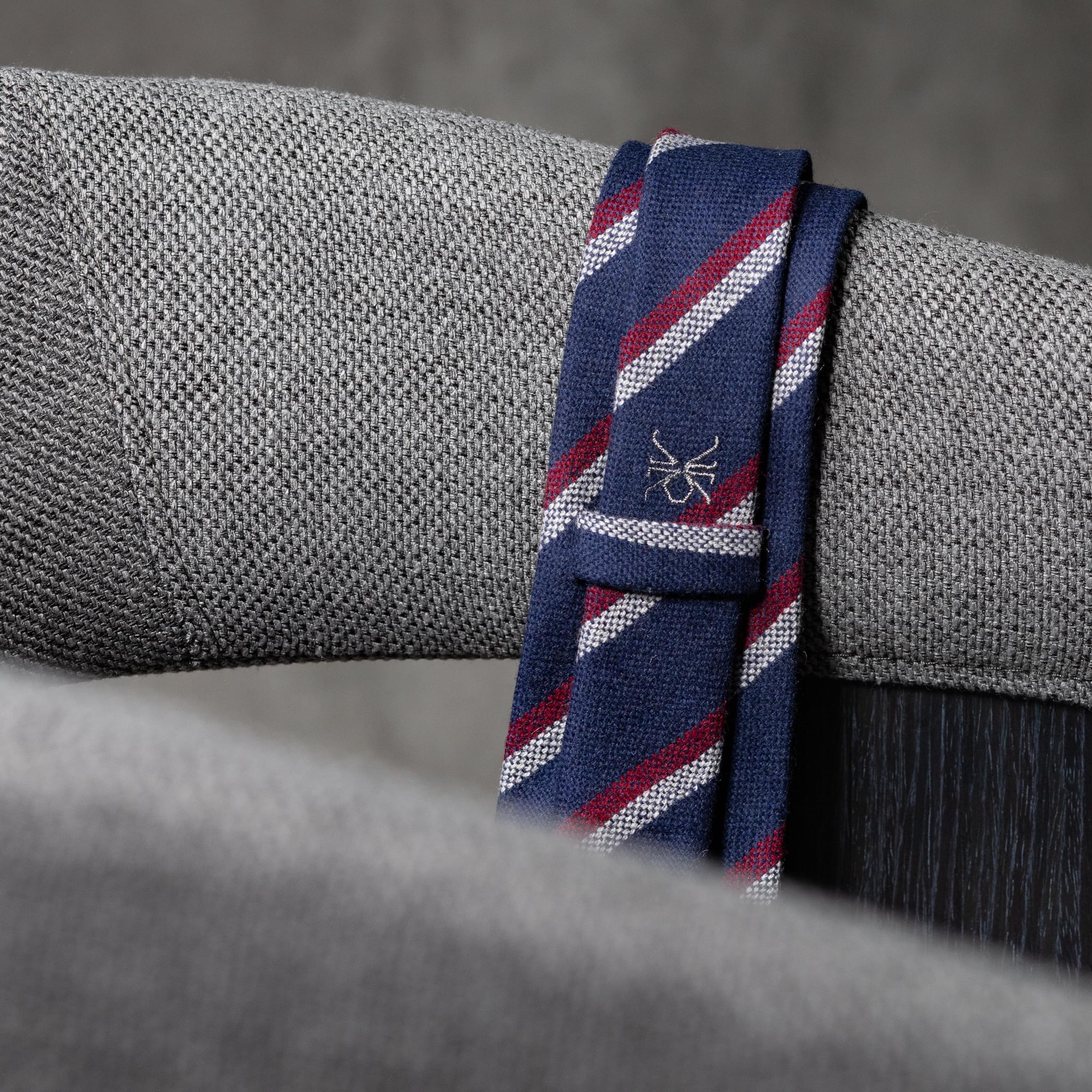 WOOL-LANA-0519-Tie-Initials-Corbata-Iniciales-The-Seelk-3