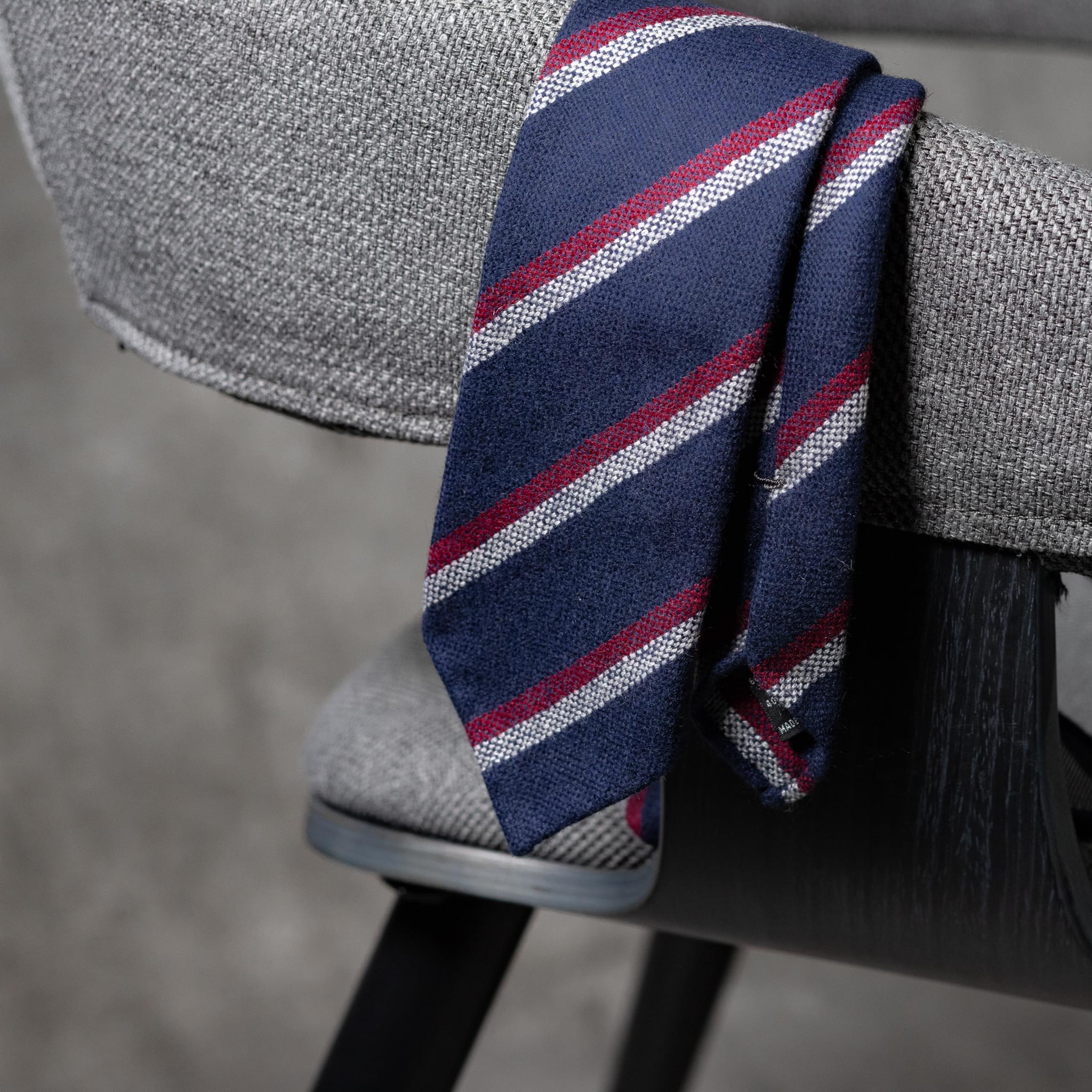 WOOL-LANA-0519-Tie-Initials-Corbata-Iniciales-The-Seelk-4