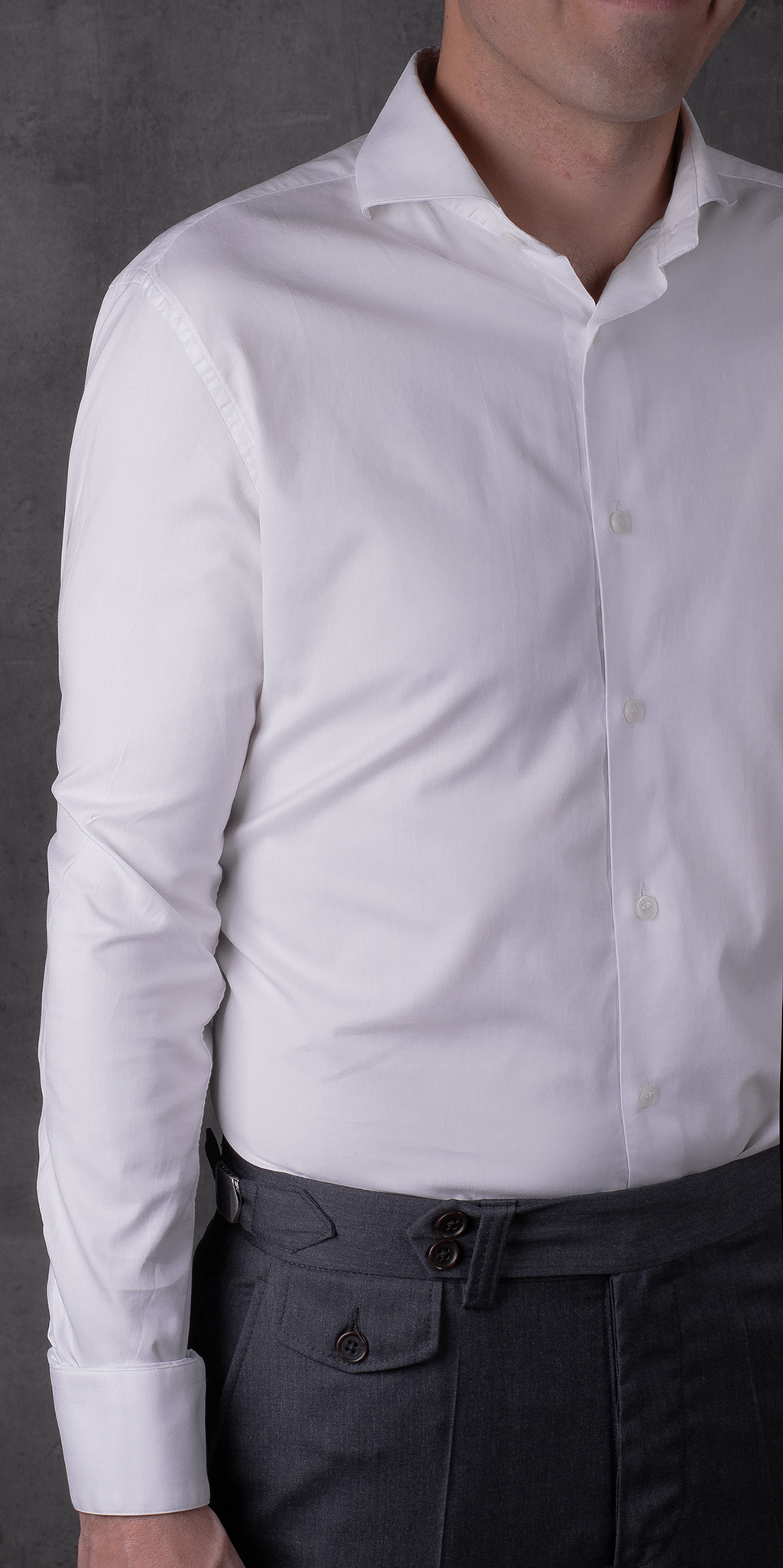 SHIRT 01.01 WHITE CAMISA 01.01 BLANCA The Seëlk 7