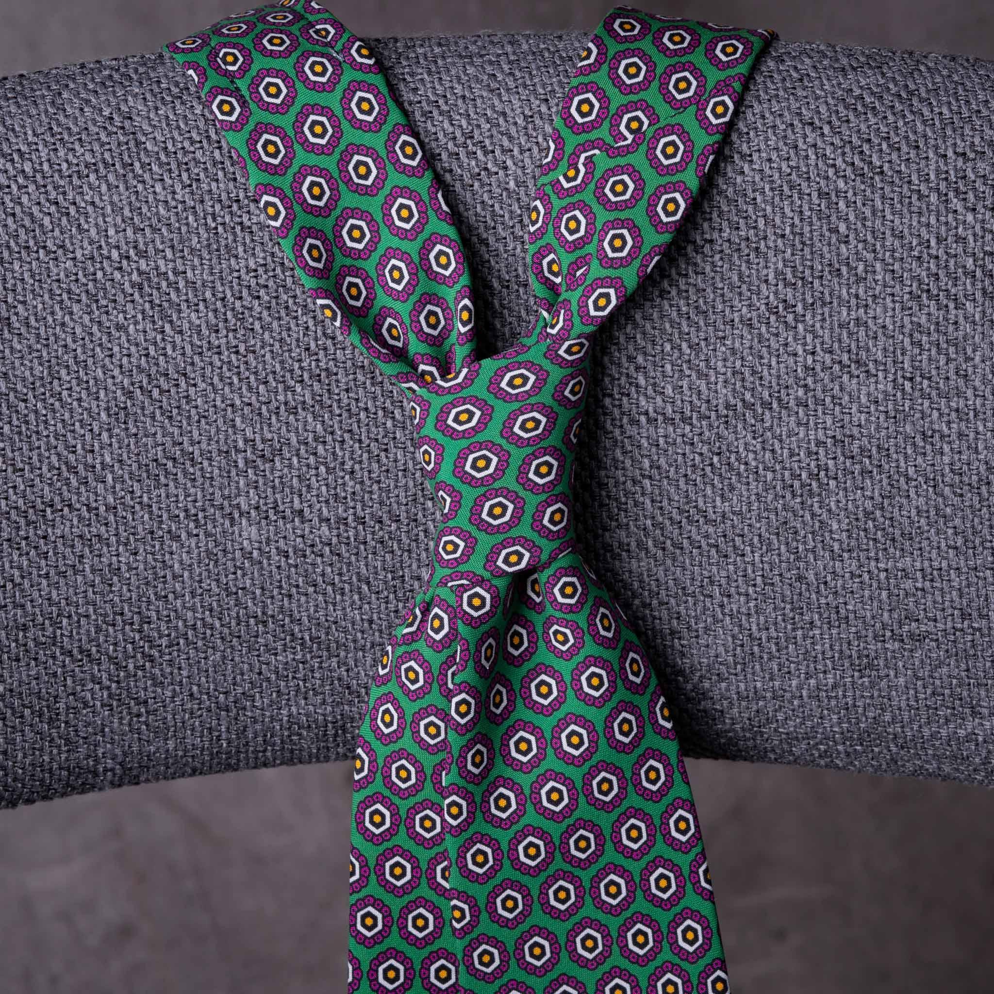 PRINTED SILK-0200-Tie-Initials-Corbata-Iniciales-The-Seelk-2