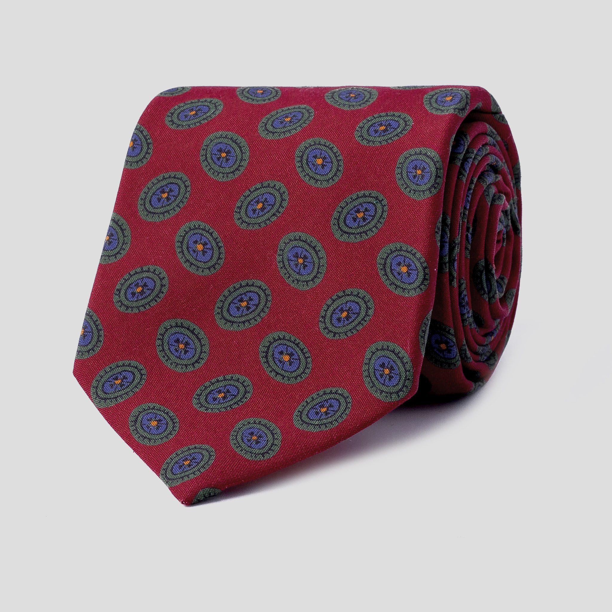 PRINTED SILK-0239-Tie-Initials-Corbata-Iniciales-The-Seelk-1