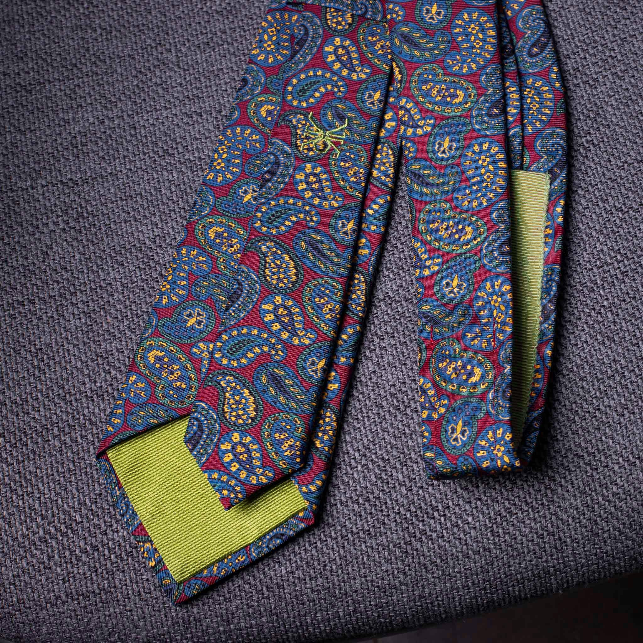 PRINTED SILK-0448-Tie-Initials-Corbata-Iniciales-The-Seelk-2