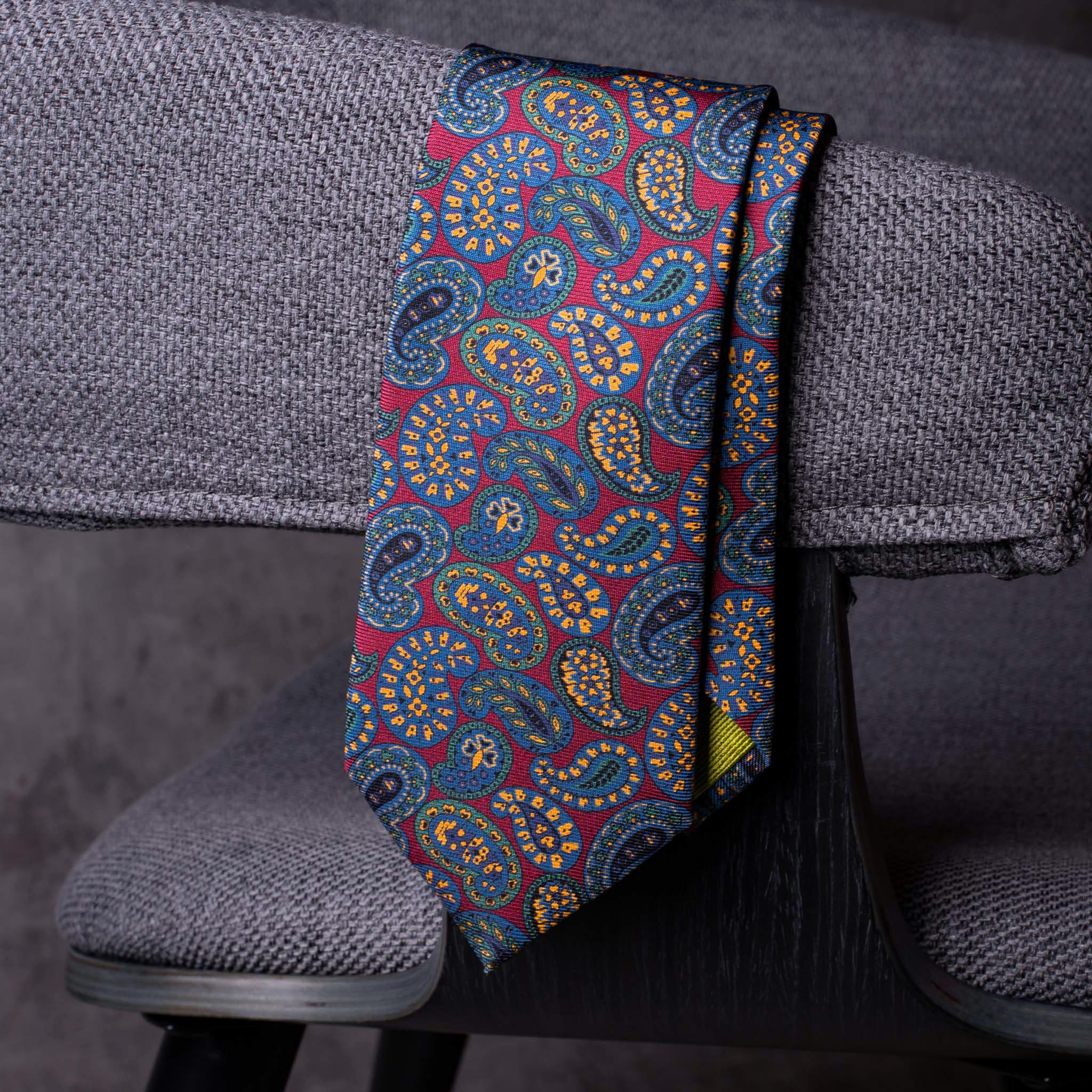 PRINTED SILK-0448-Tie-Initials-Corbata-Iniciales-The-Seelk-3