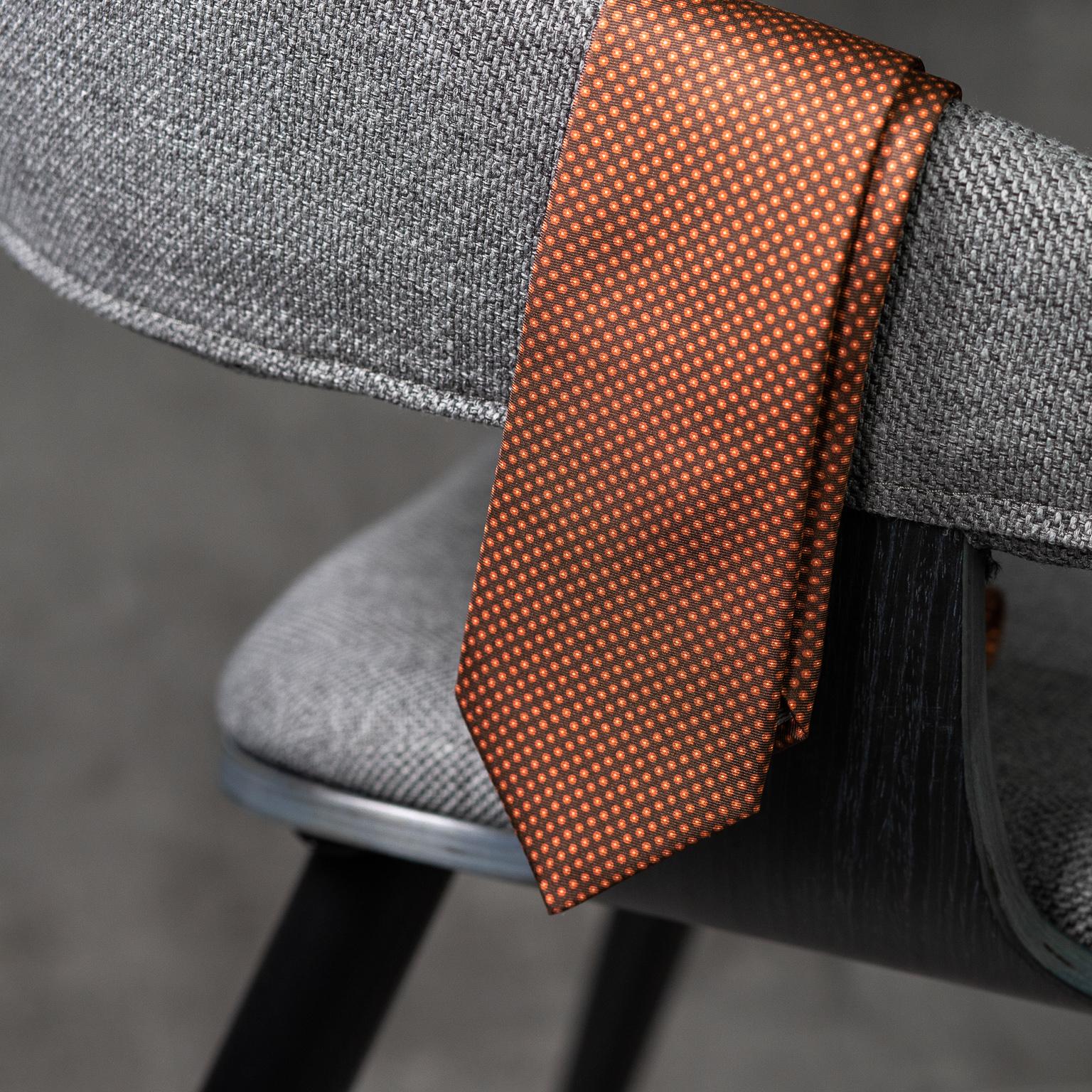 PRINTED SILK SEDA ESTAMPADA-0568-Tie-Initials-Corbata-Iniciales-The Seëlk-3