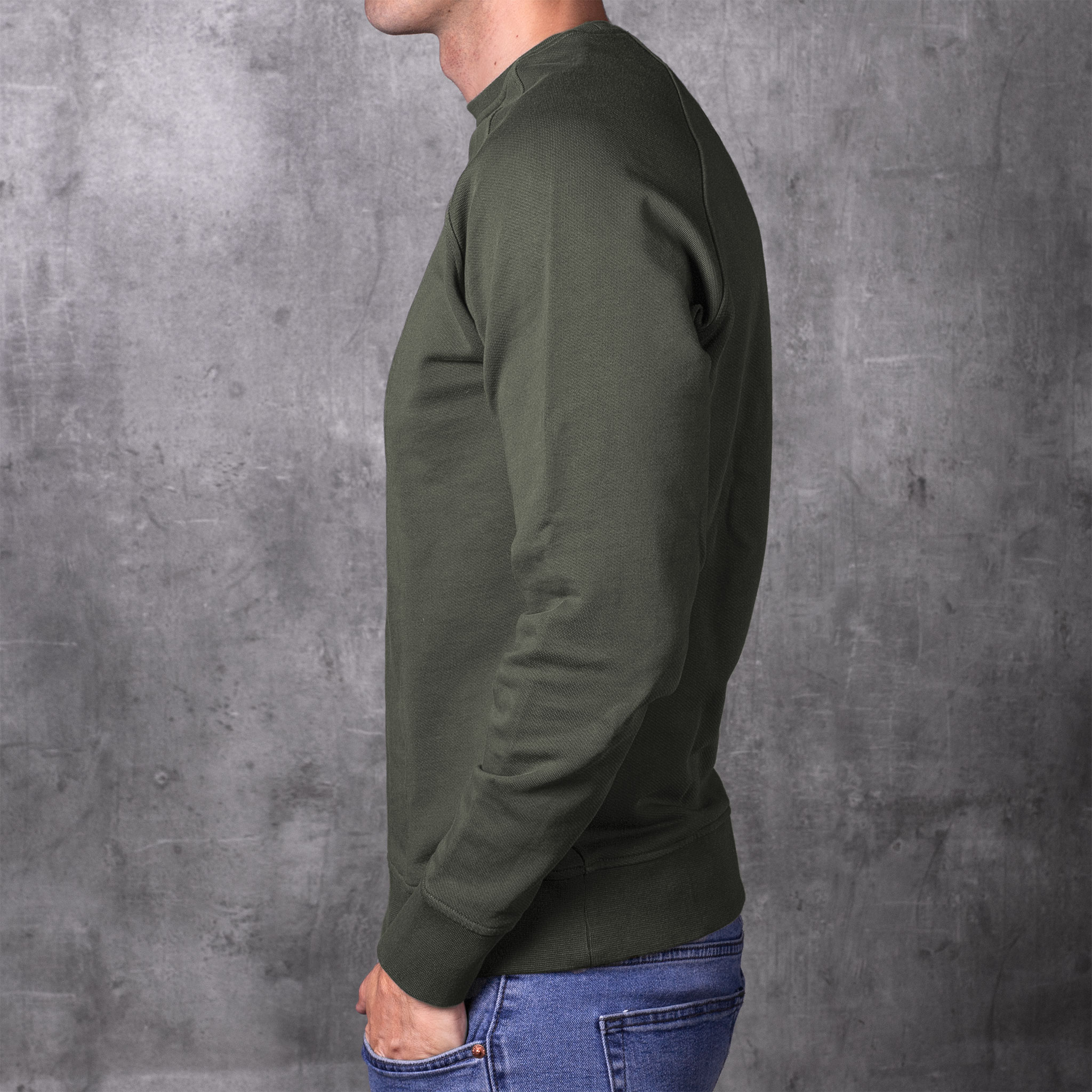 SWEATSHIRT 01.01 GREEN SUDADERA 01.01 VERDE The Seëlk 2