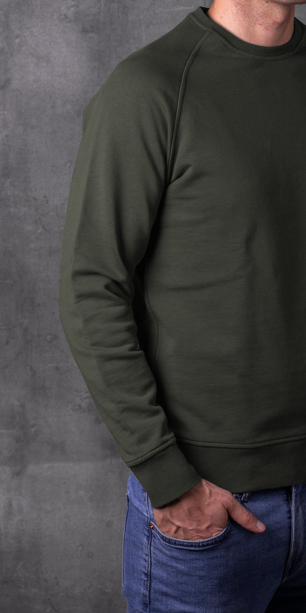 SWEATSHIRT 01.01 GREEN SUDADERA 01.01 VERDE The Seëlk 7