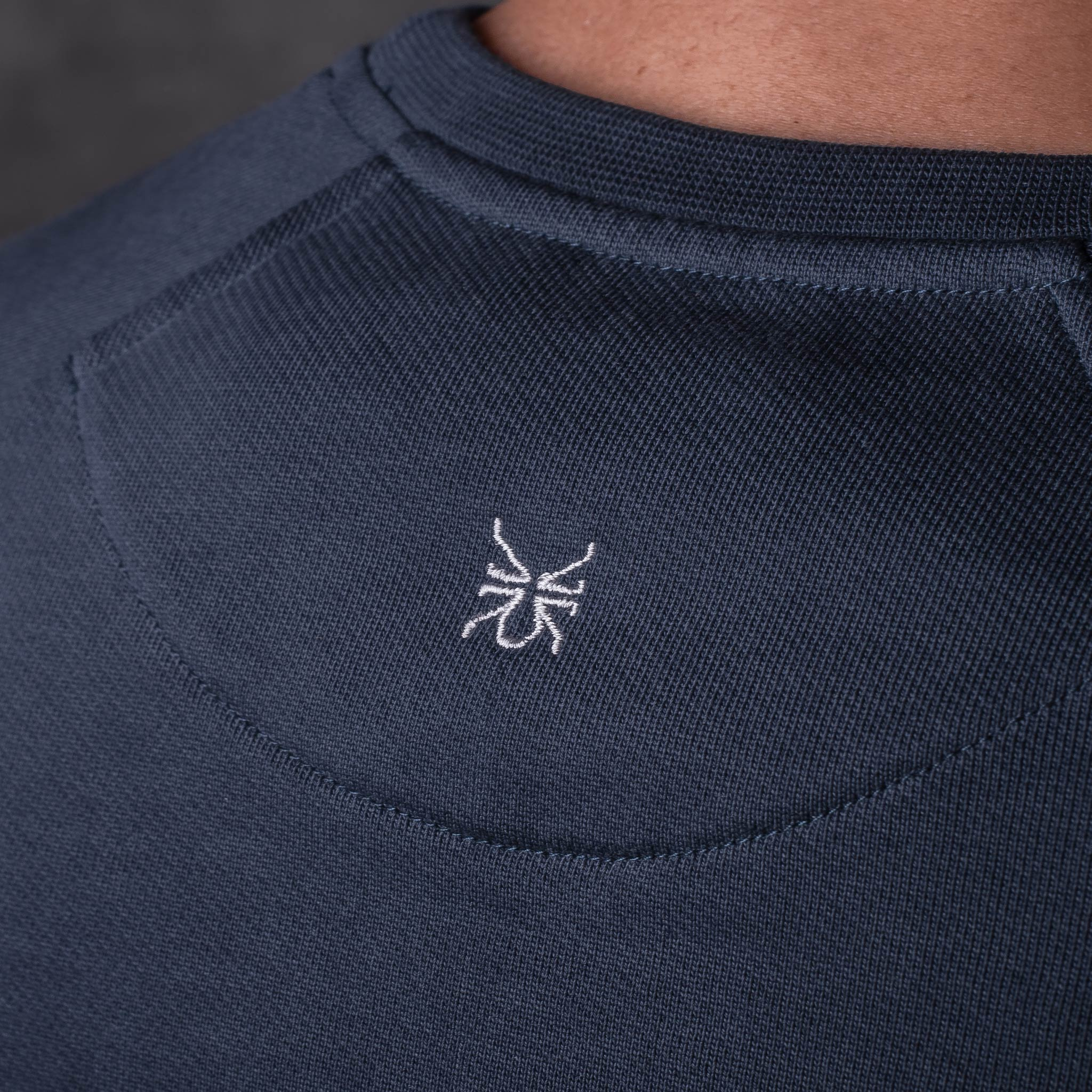 SWEATSHIRT 01.01 NAVY SUDADERA 01.01 AZUL The Seëlk 9