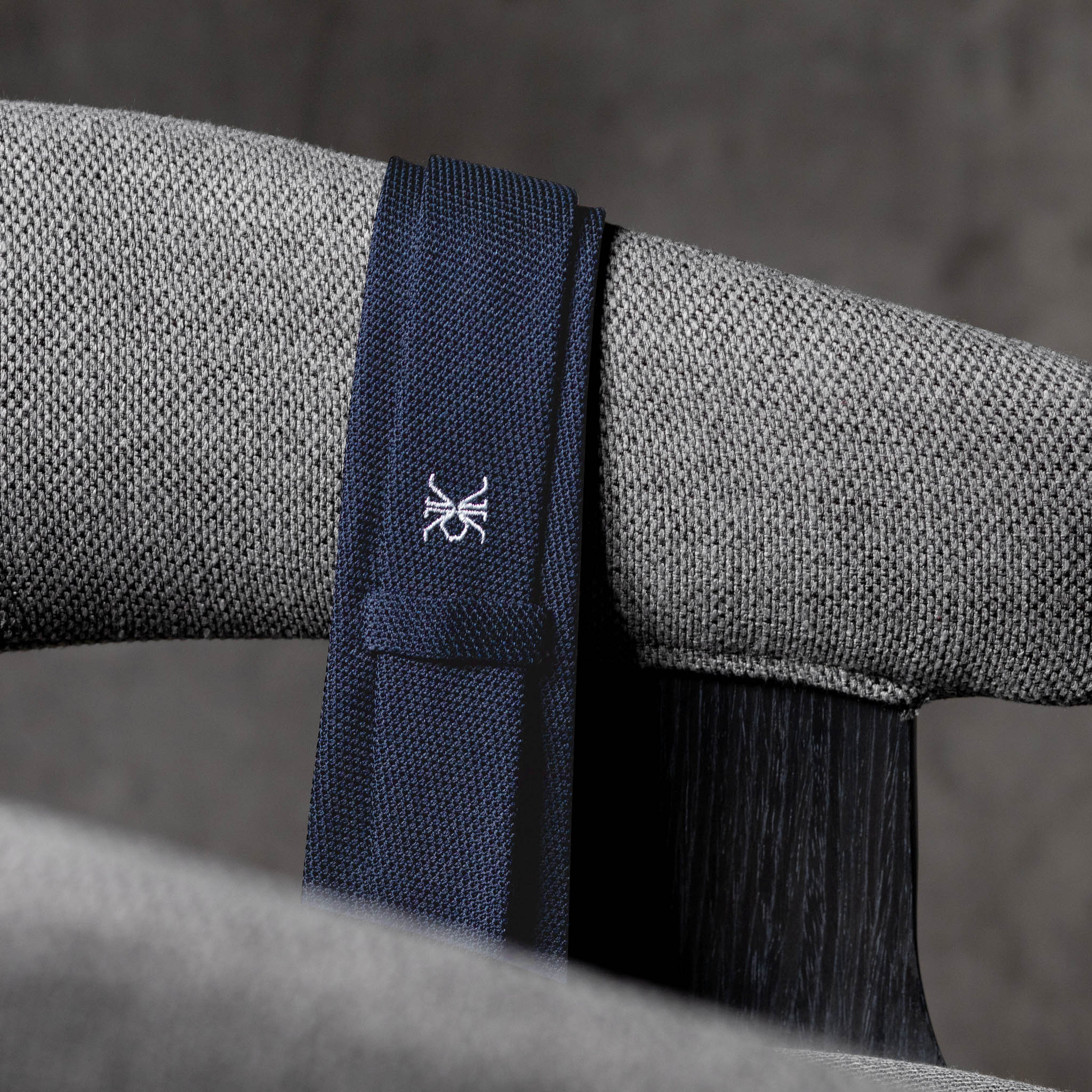 GRENADINE-0280-Tie-Initials-Corbata-Iniciales-The-Seelk-3