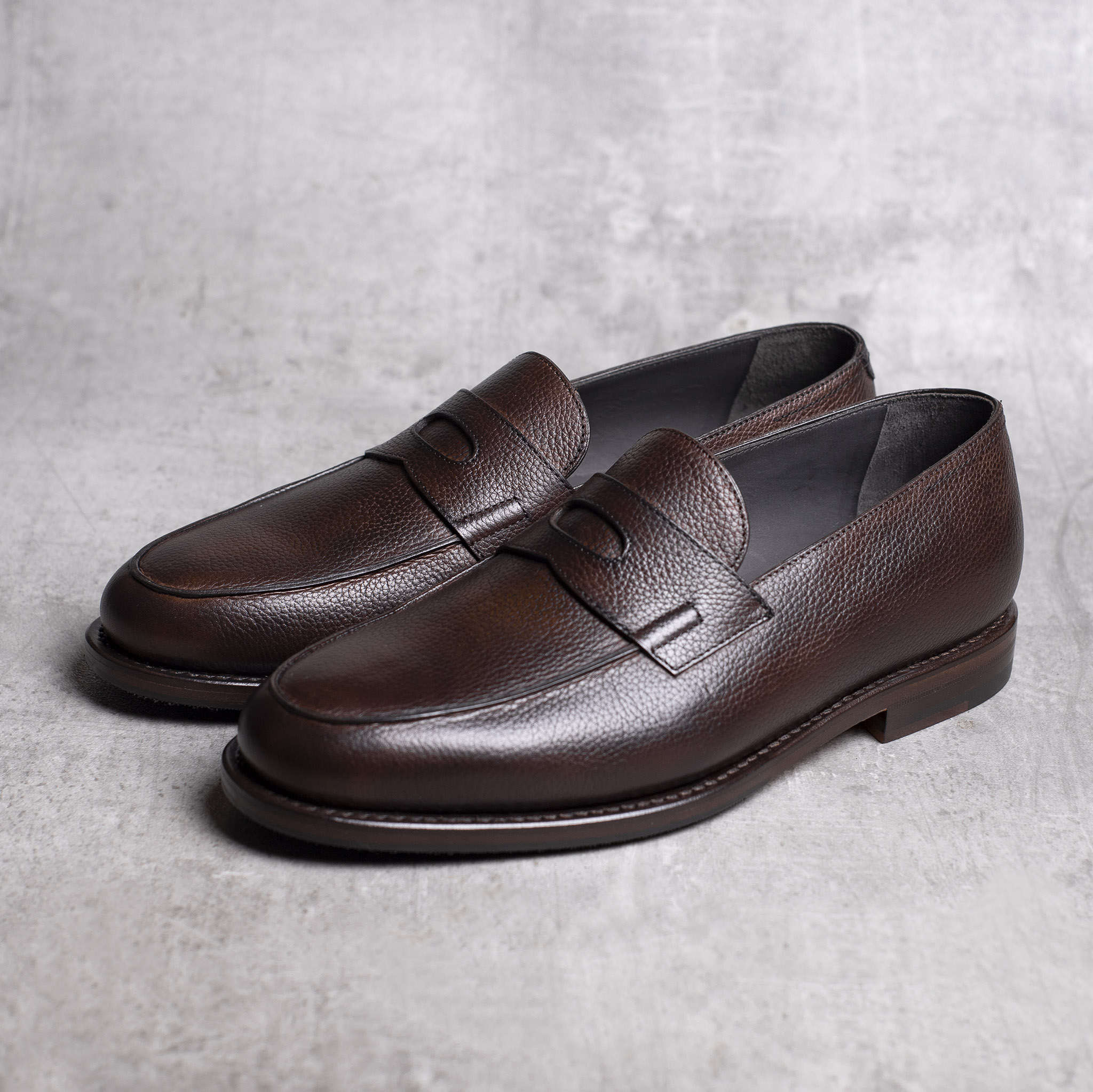 LOAFERS · 0647 Grain leather Toffee 2