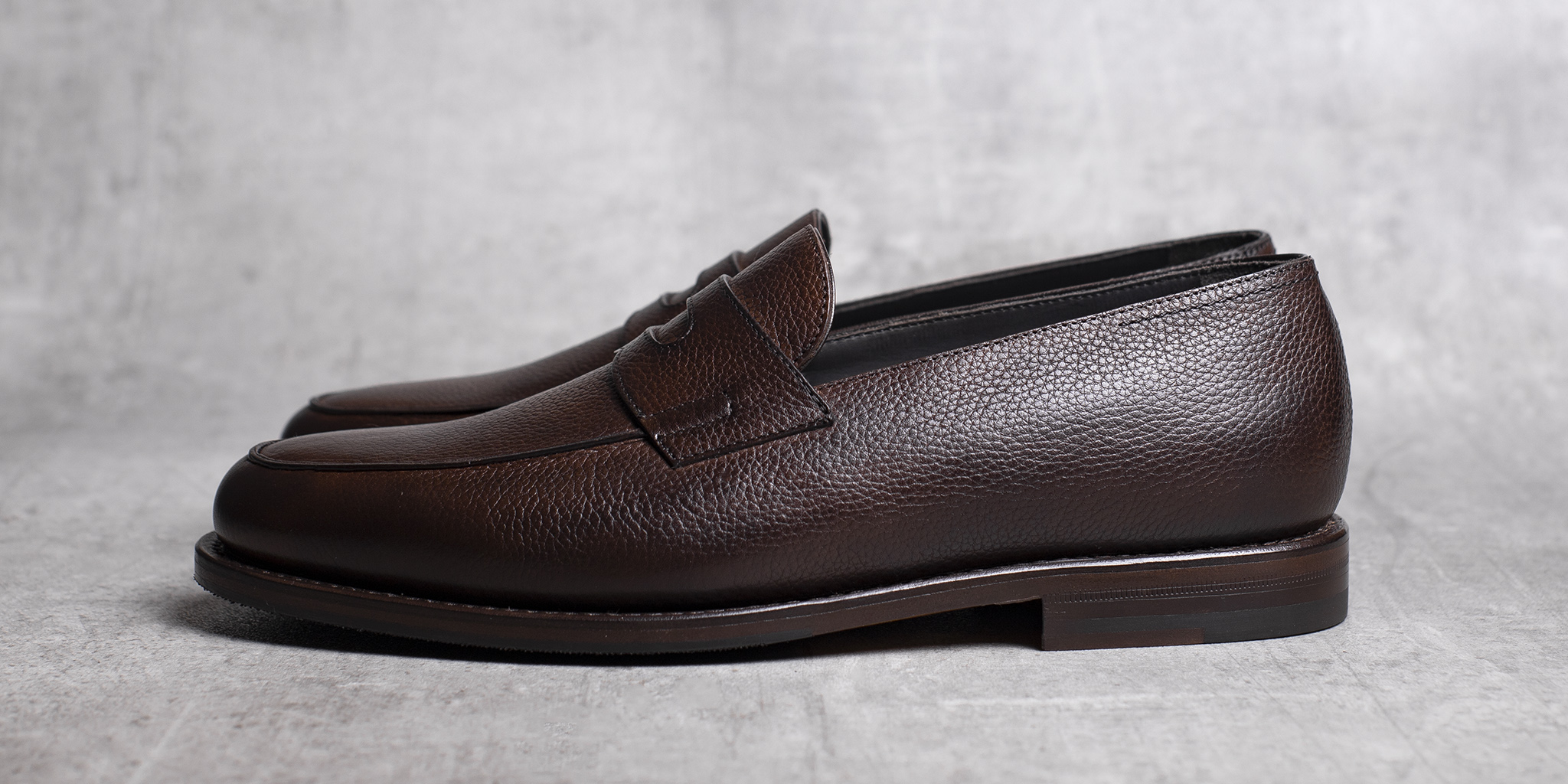 LOAFERS · 0647 Grain leather Toffee 3