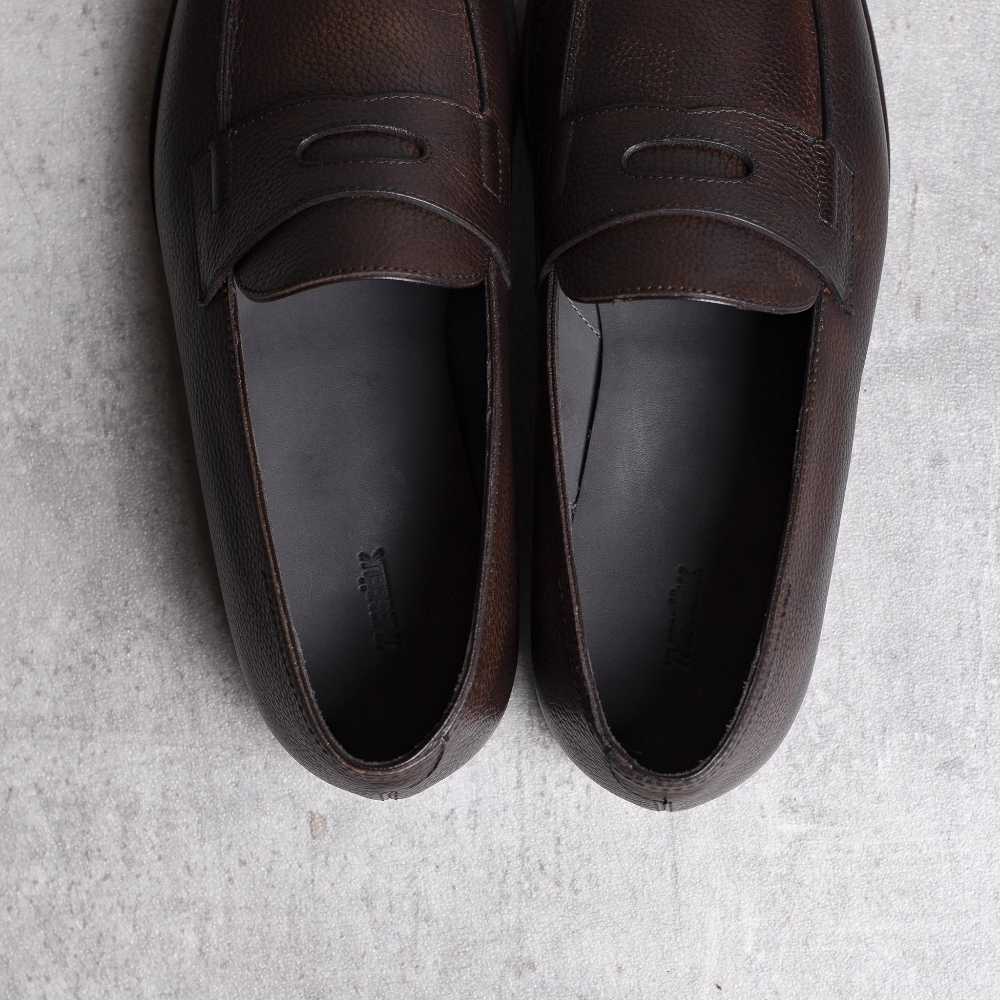LOAFERS · 0647 Grain leather Toffee 5