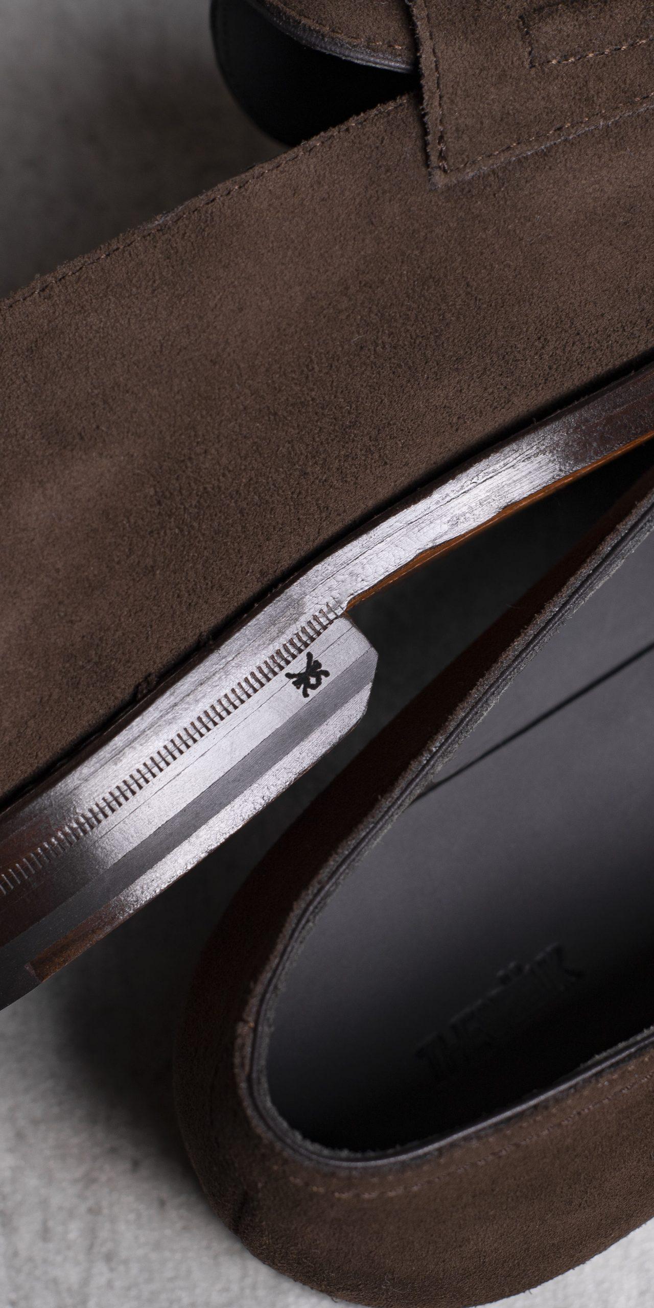 LOAFERS · 0648 Suede split leather Cigar 6